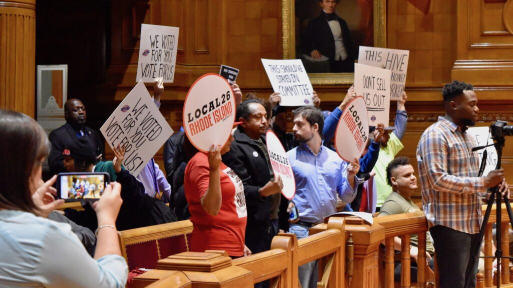 At a raucous meeting, Providence City Council approves the Hive Hotel TSA