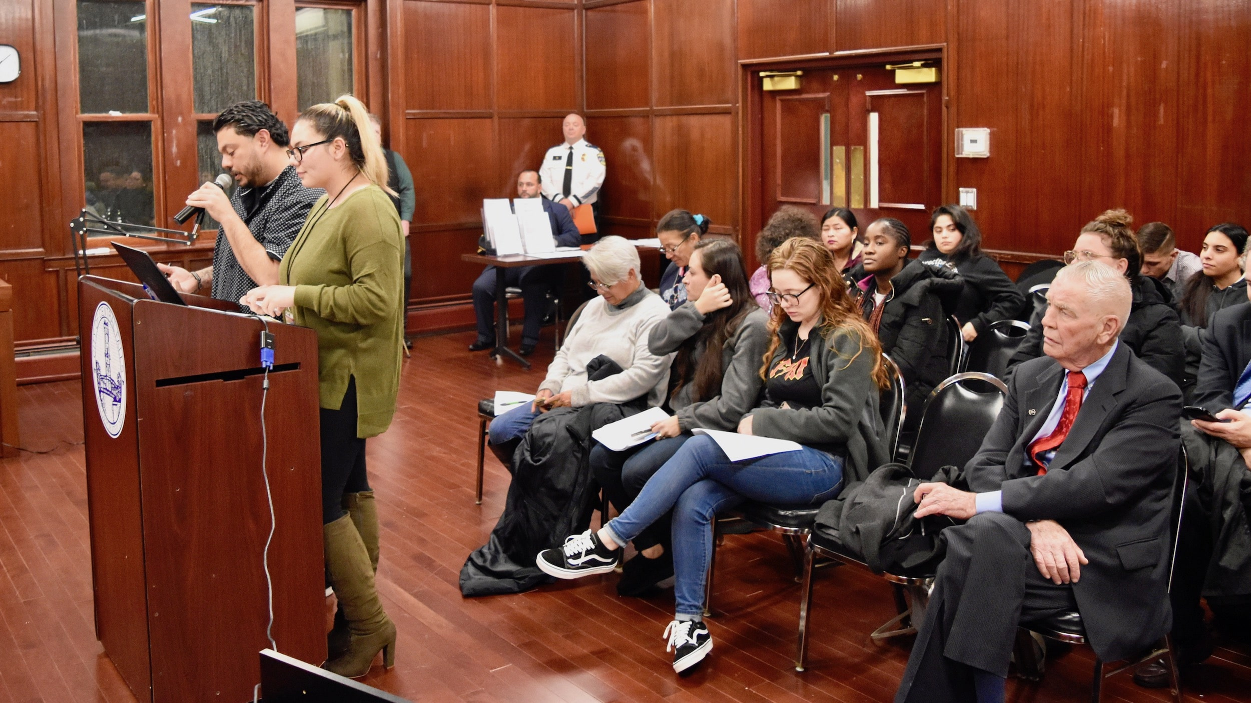 Photo for Community Safety Survey in Central Falls indicates 98.4 percent feel negatively towards the Wyatt