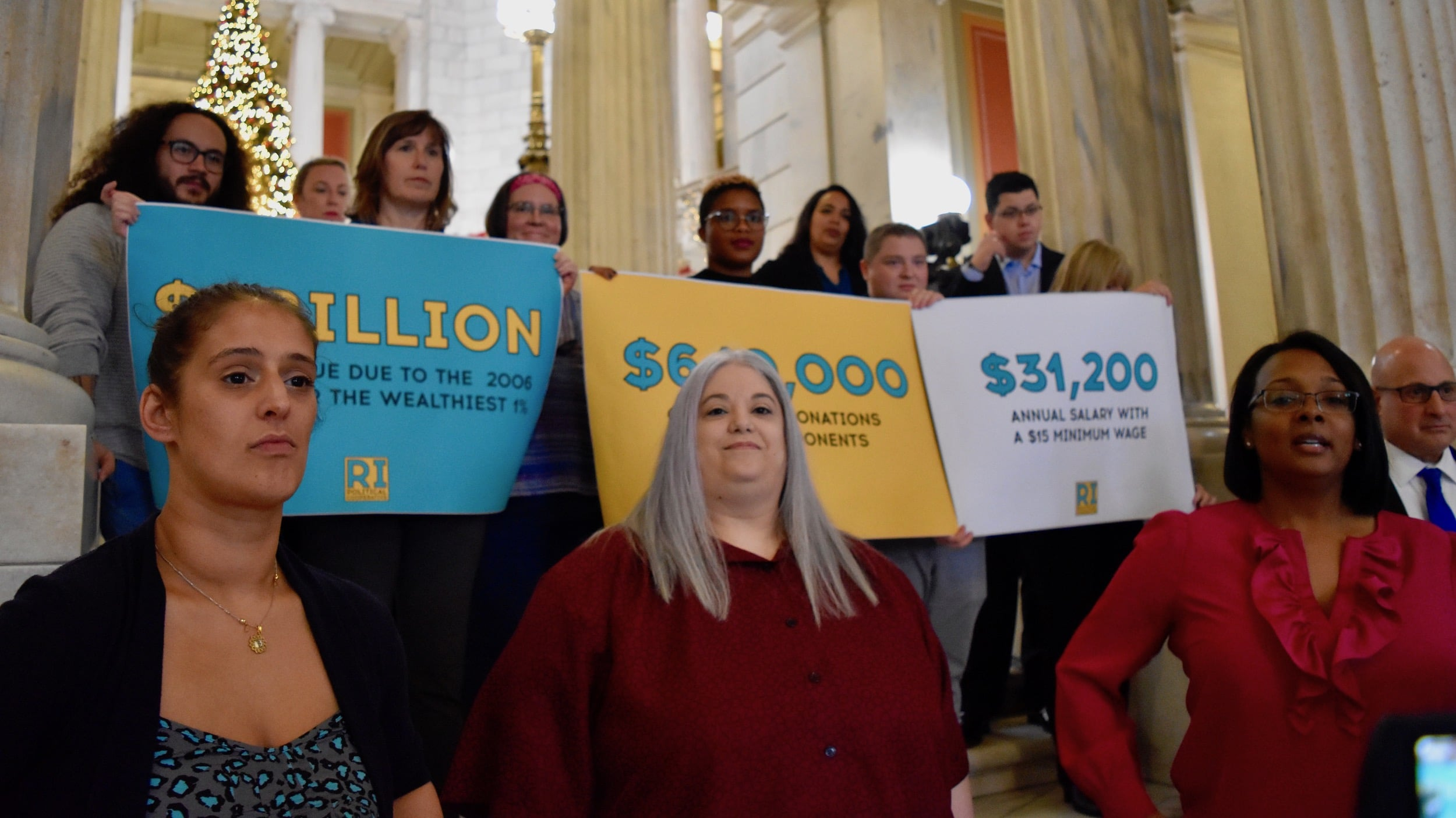 Photo for Representative Walsh joins the Rhode Island Political Cooperative as the group announce new candidates and policy proposals