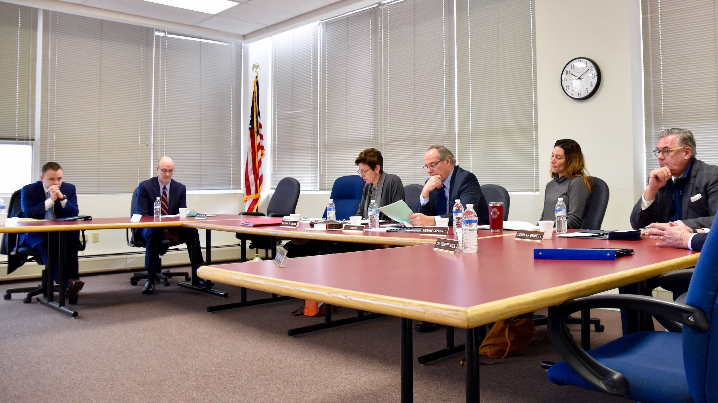 Photo for Rhode Island Ethics Commission discusses having less transparency