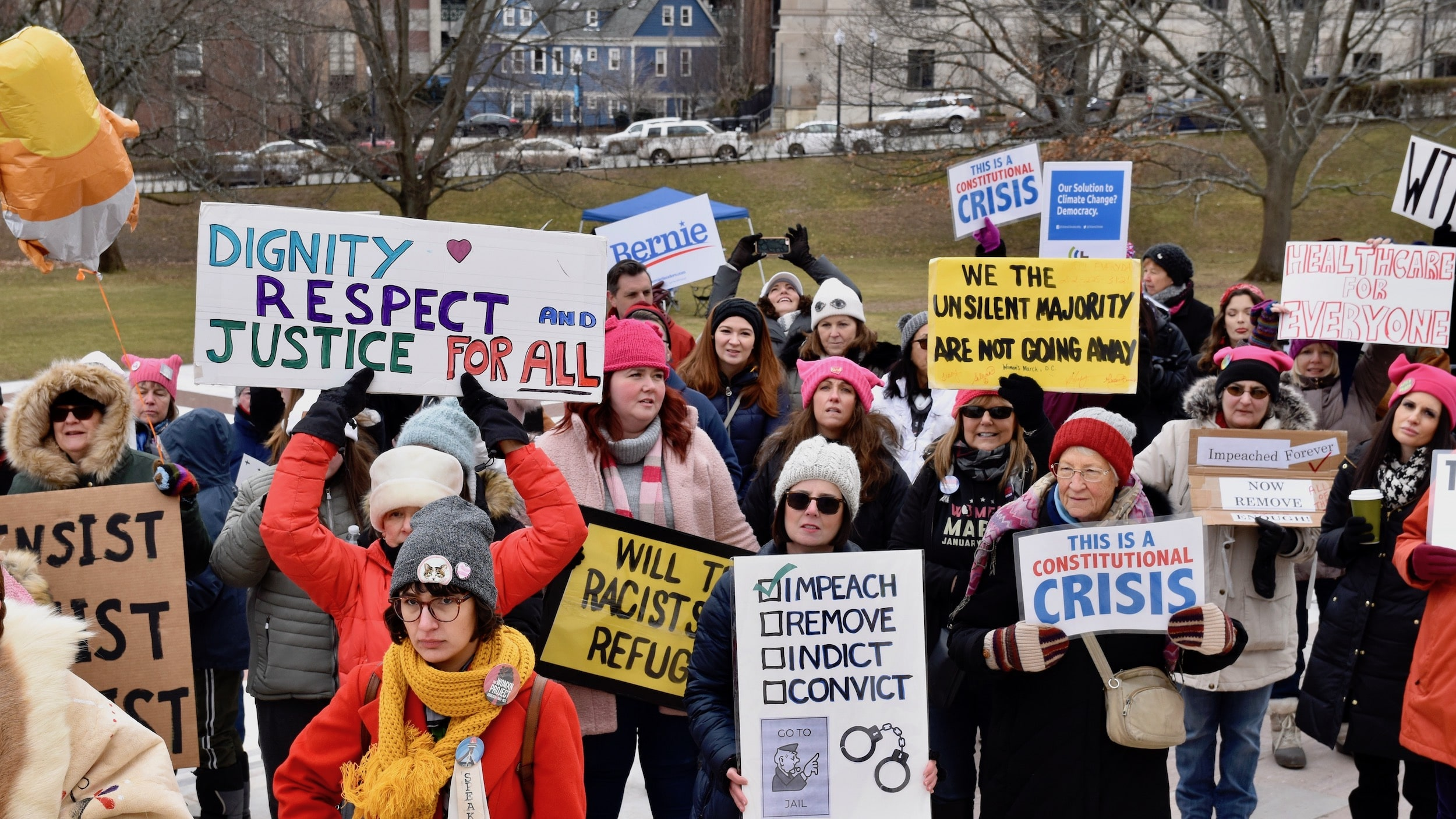 Photo for Women's Wave RI holds 4th annual event on the State House lawn
