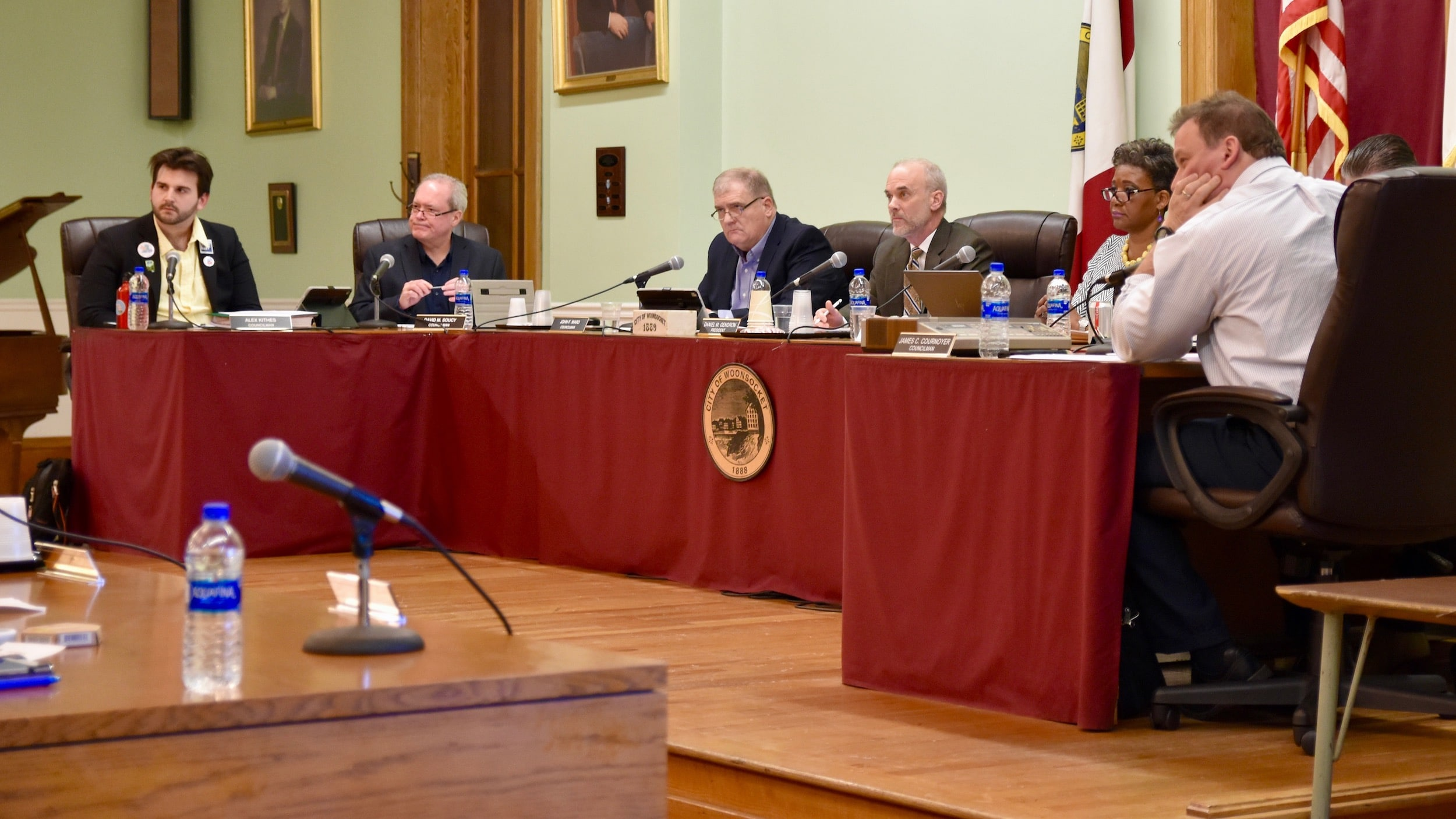 Photo for Woonsocket City Council passes resolution honoring self-admitted white nationalist