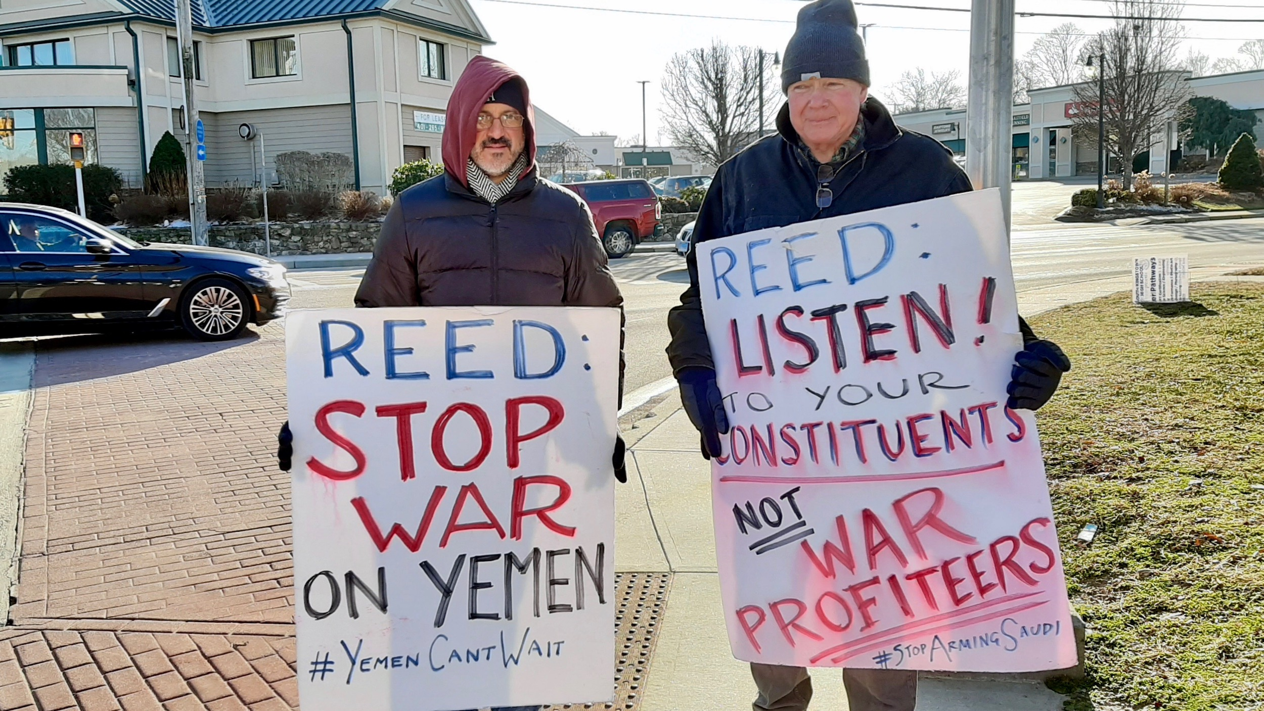 Photo for Reed and Langevin fail the people, serve military corporations instead