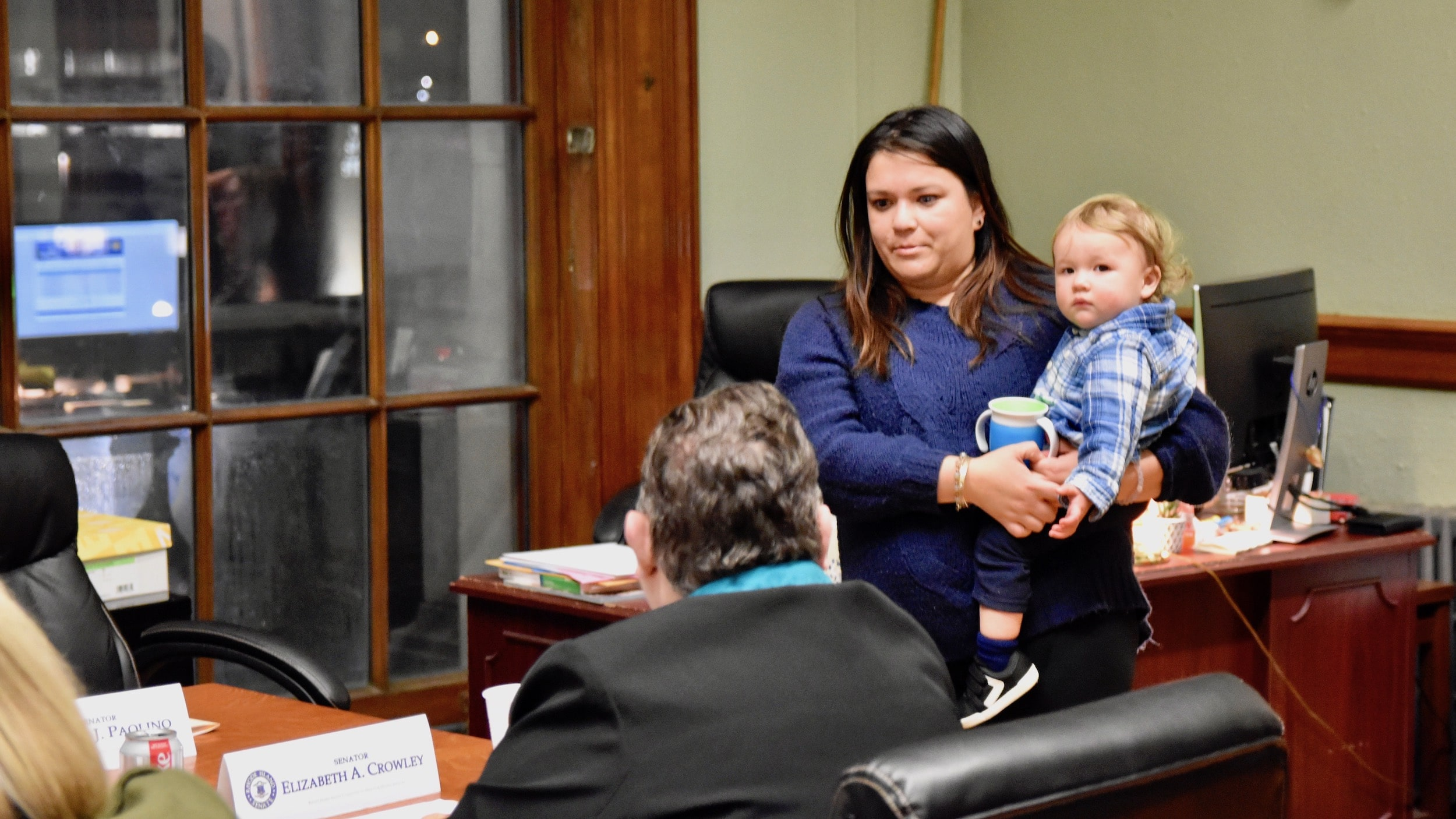 Photo for Senate committee hears testimony on doula bill