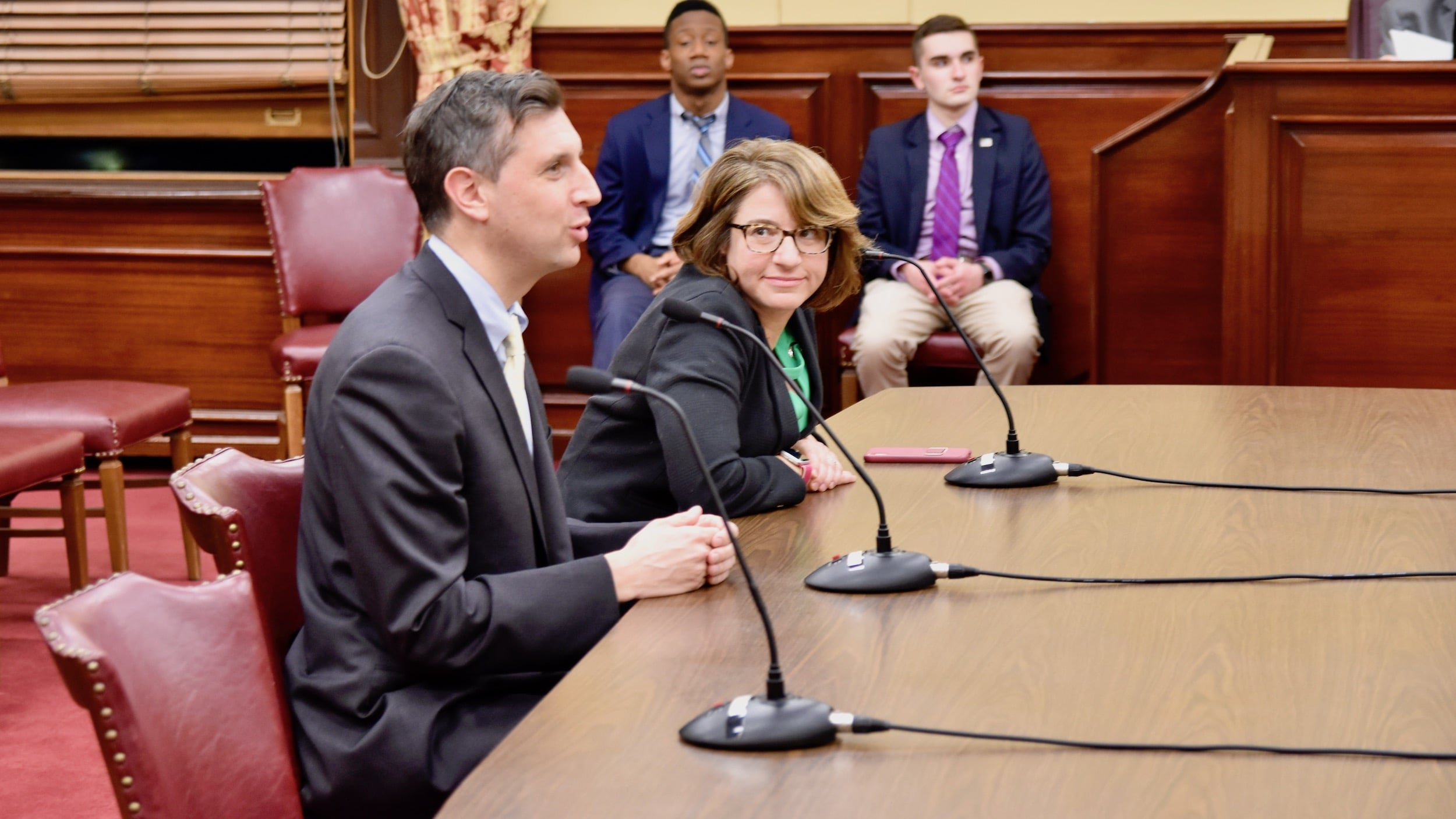 Photo for Senate Judiciary passes bill to allow campaign cash to be used for child care