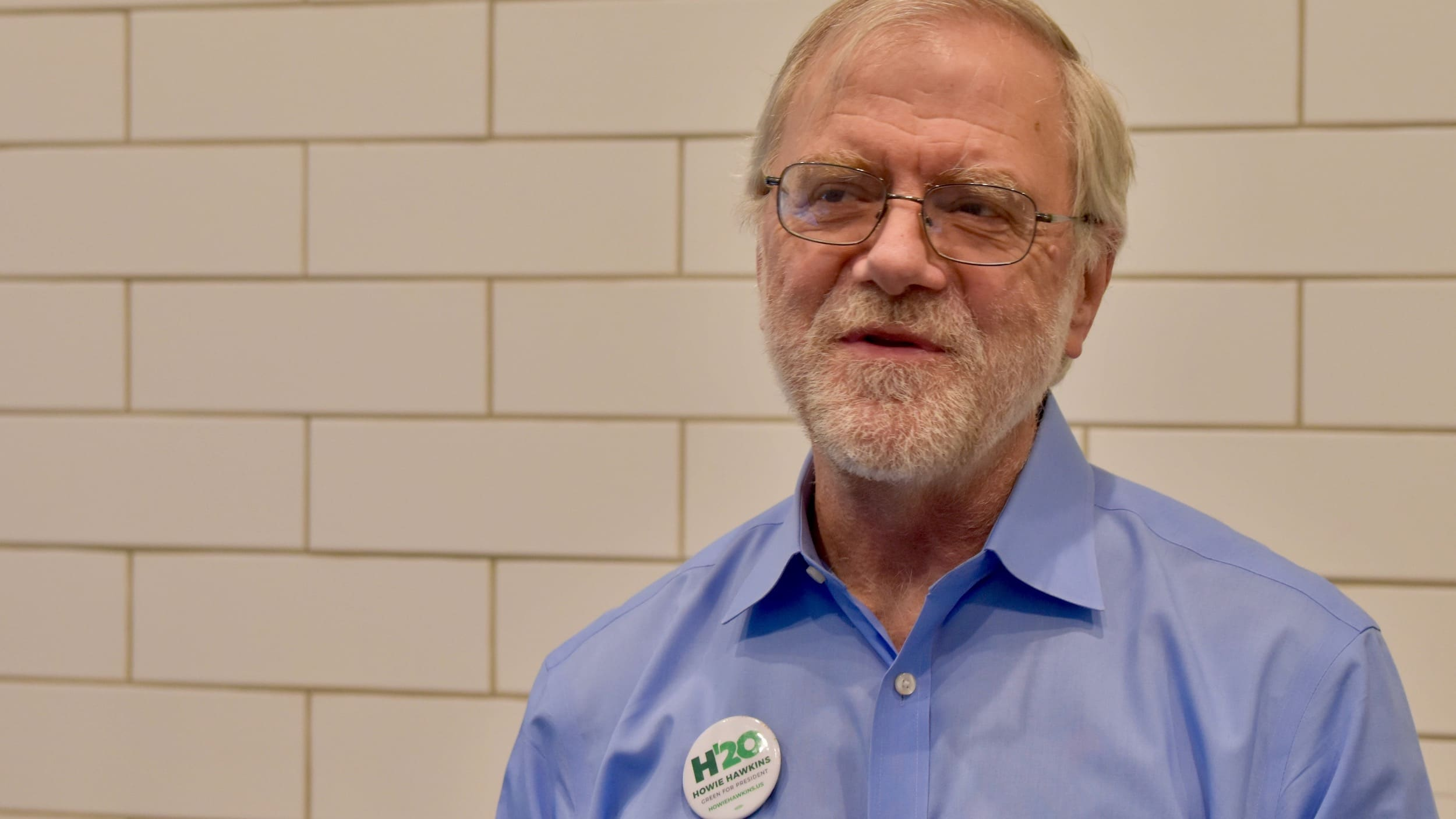 Photo for An interview with Green Party presidential hopeful Howie Hawkins