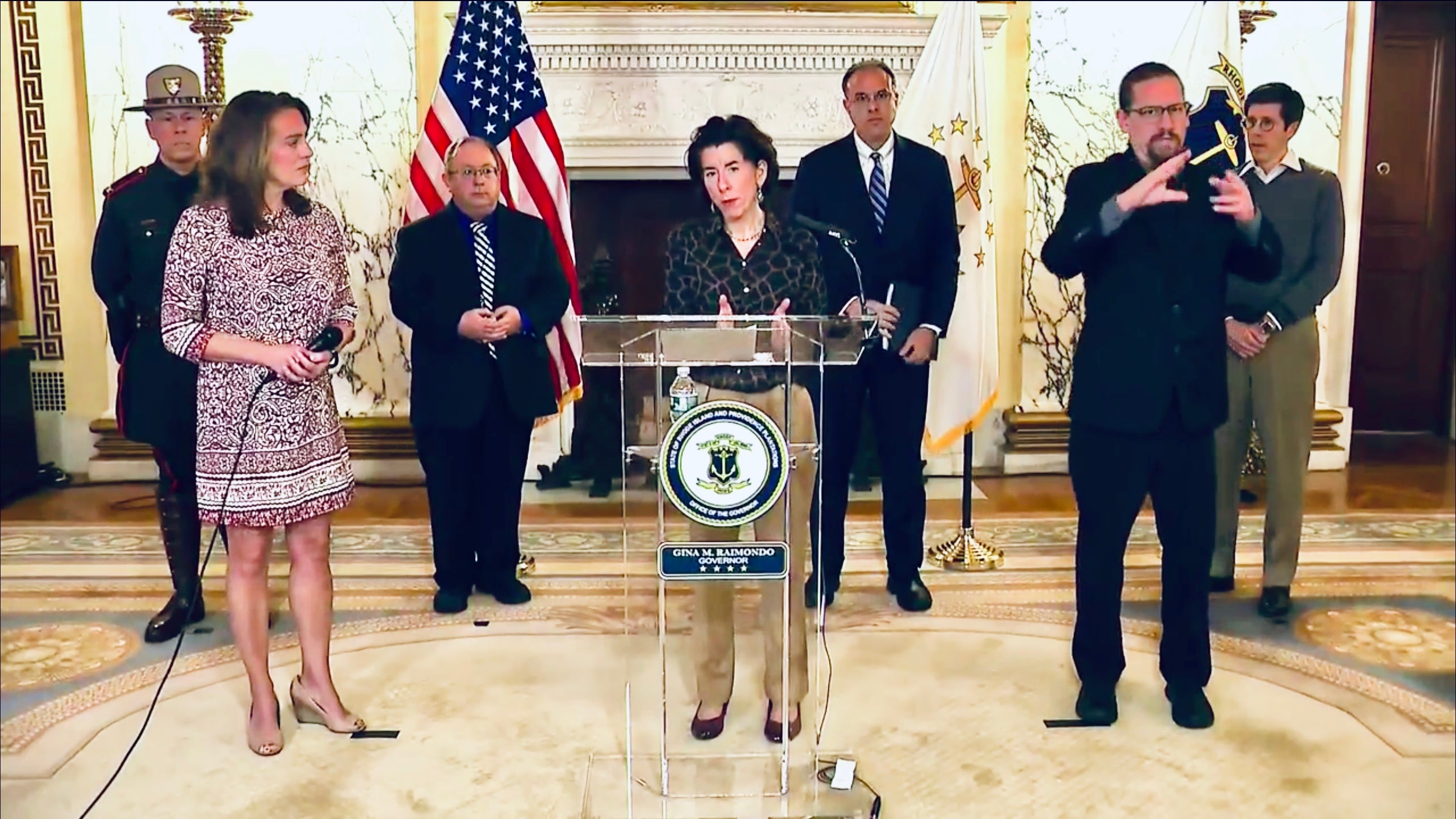Photo for Governor Raimondo takes the high road in disagreement with Cuomo
