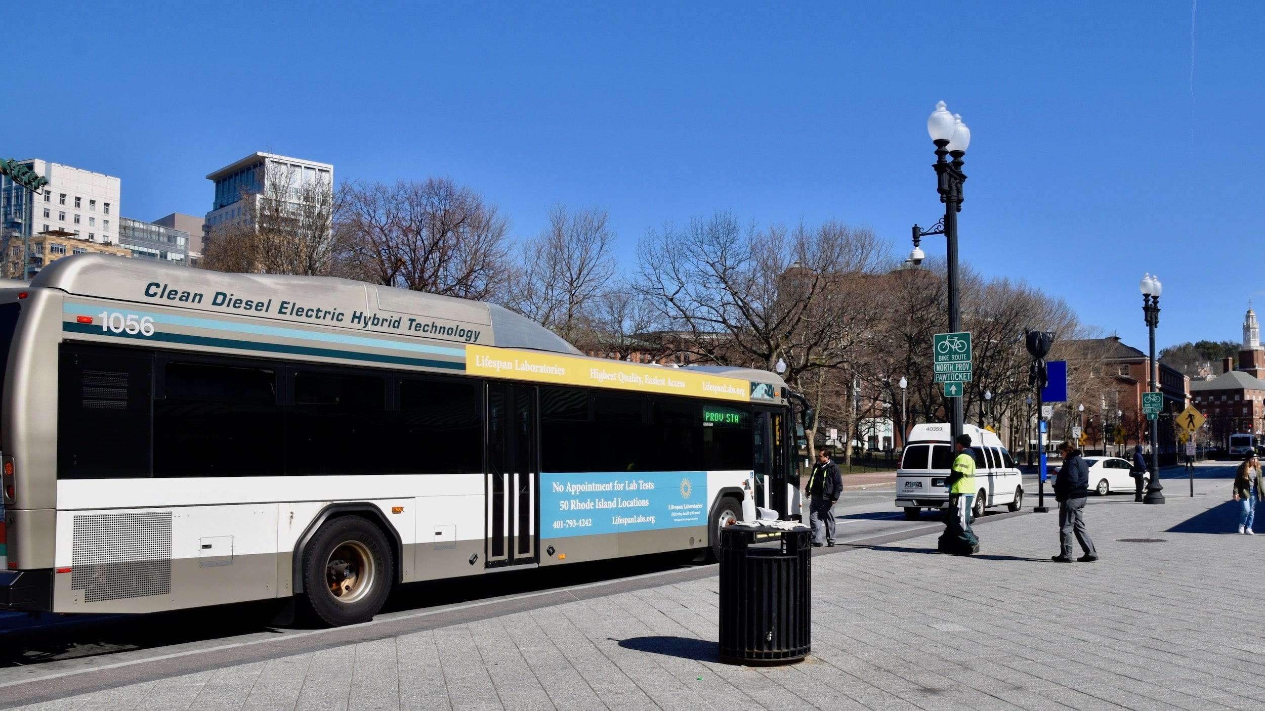 Photo for Will the proposed multi-hub bus plan require RI to pay back past Federal grants?