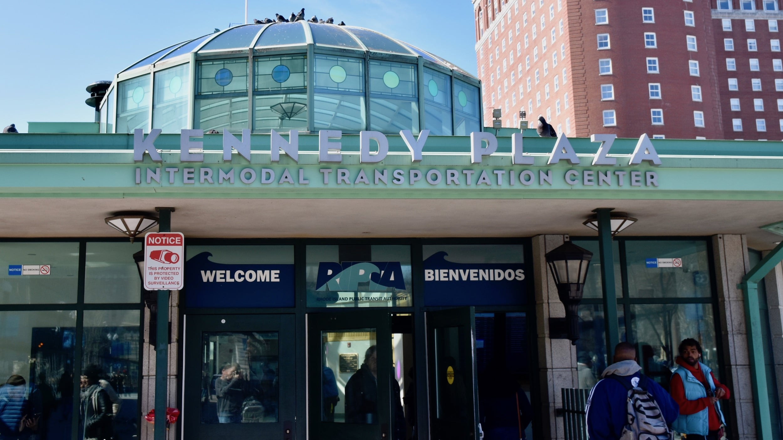 Photo for Lack of bathrooms in Kennedy Plaza threatens public health