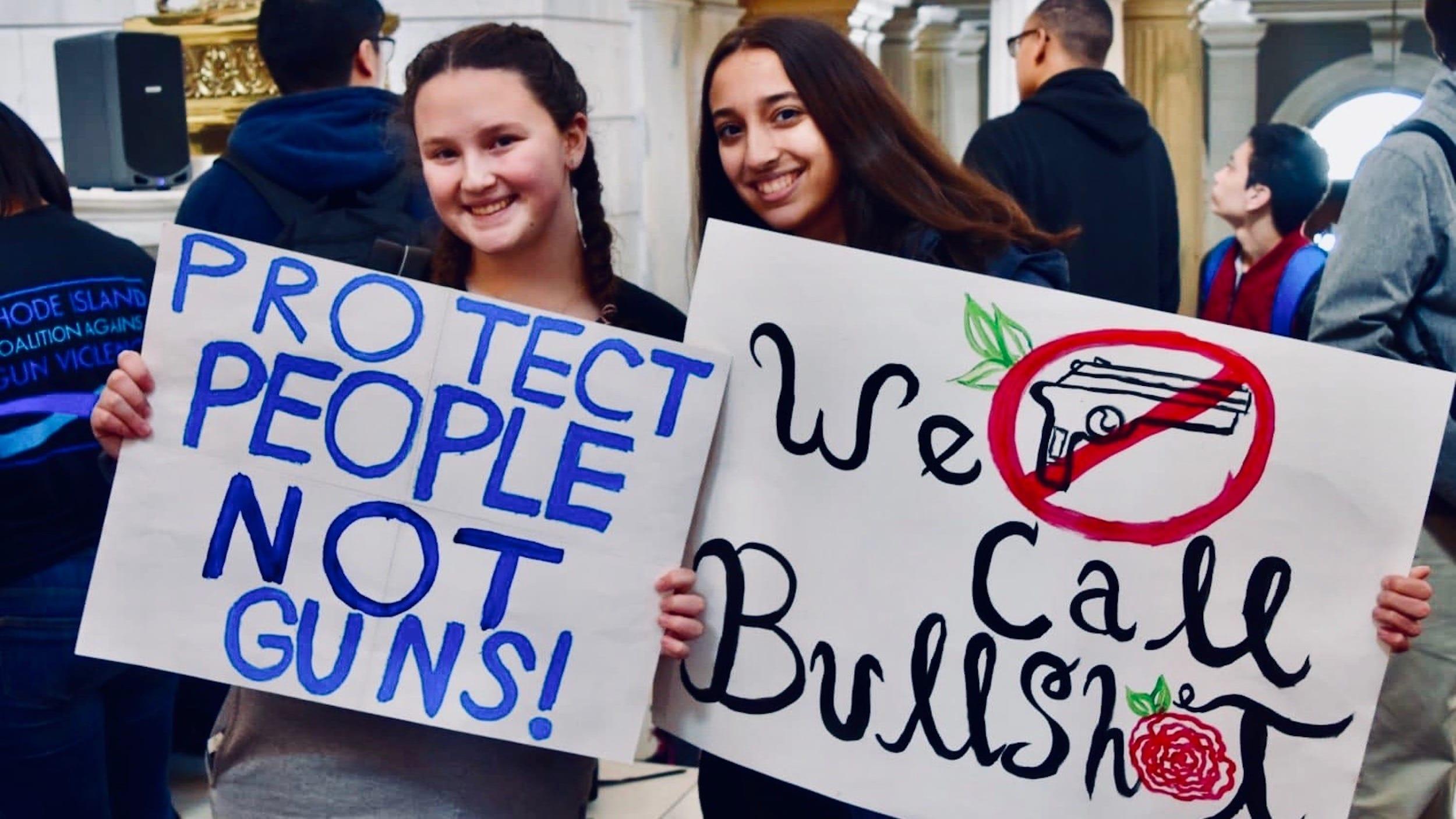 Photo for RICAGV: Pro-gun scare tactics lead to surge in RI gun sales and gun violence