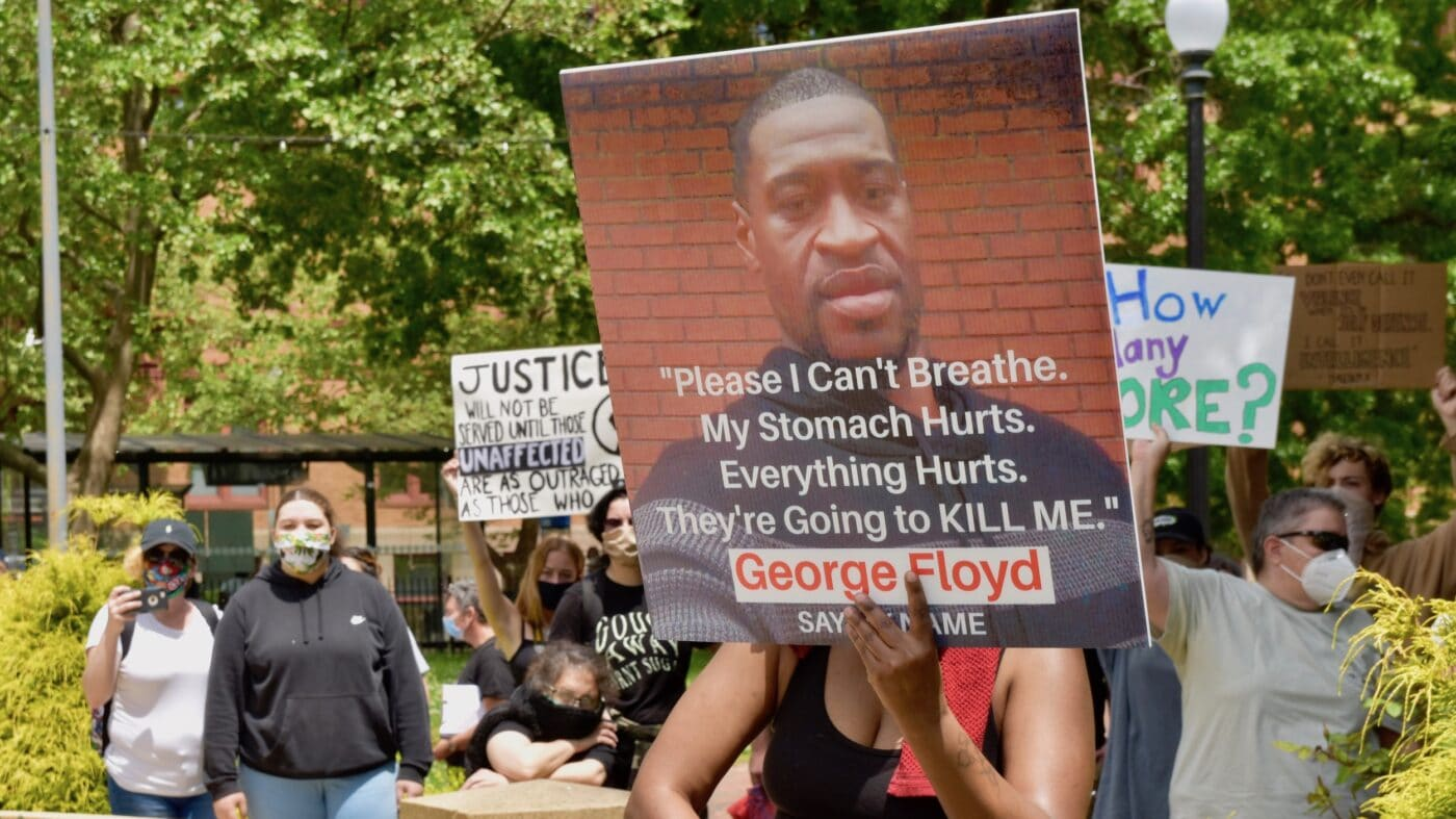 Providence Democratic Socialists stand against police violence