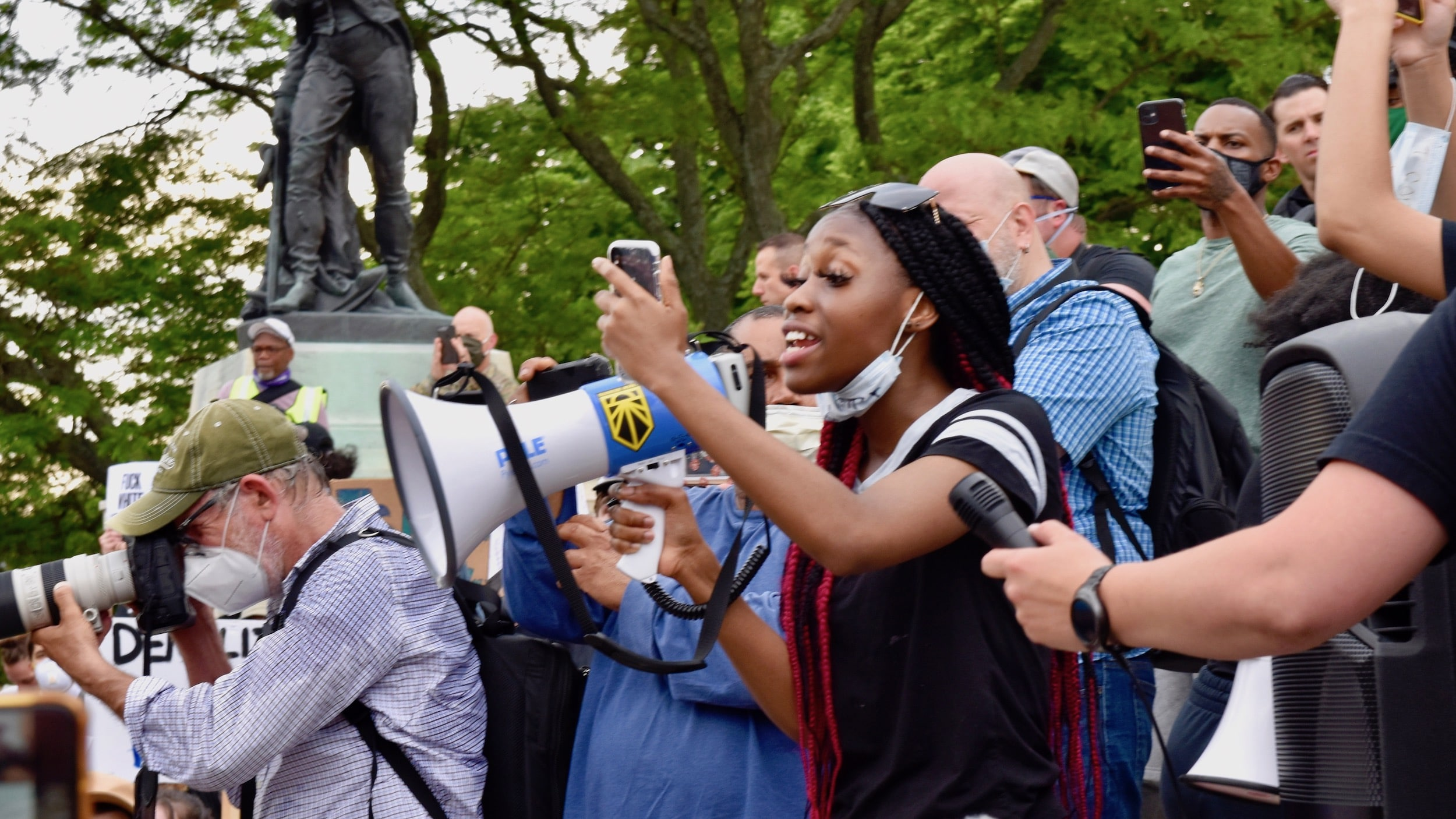 Photo for Photos from the youth led Protect Black Lives protest