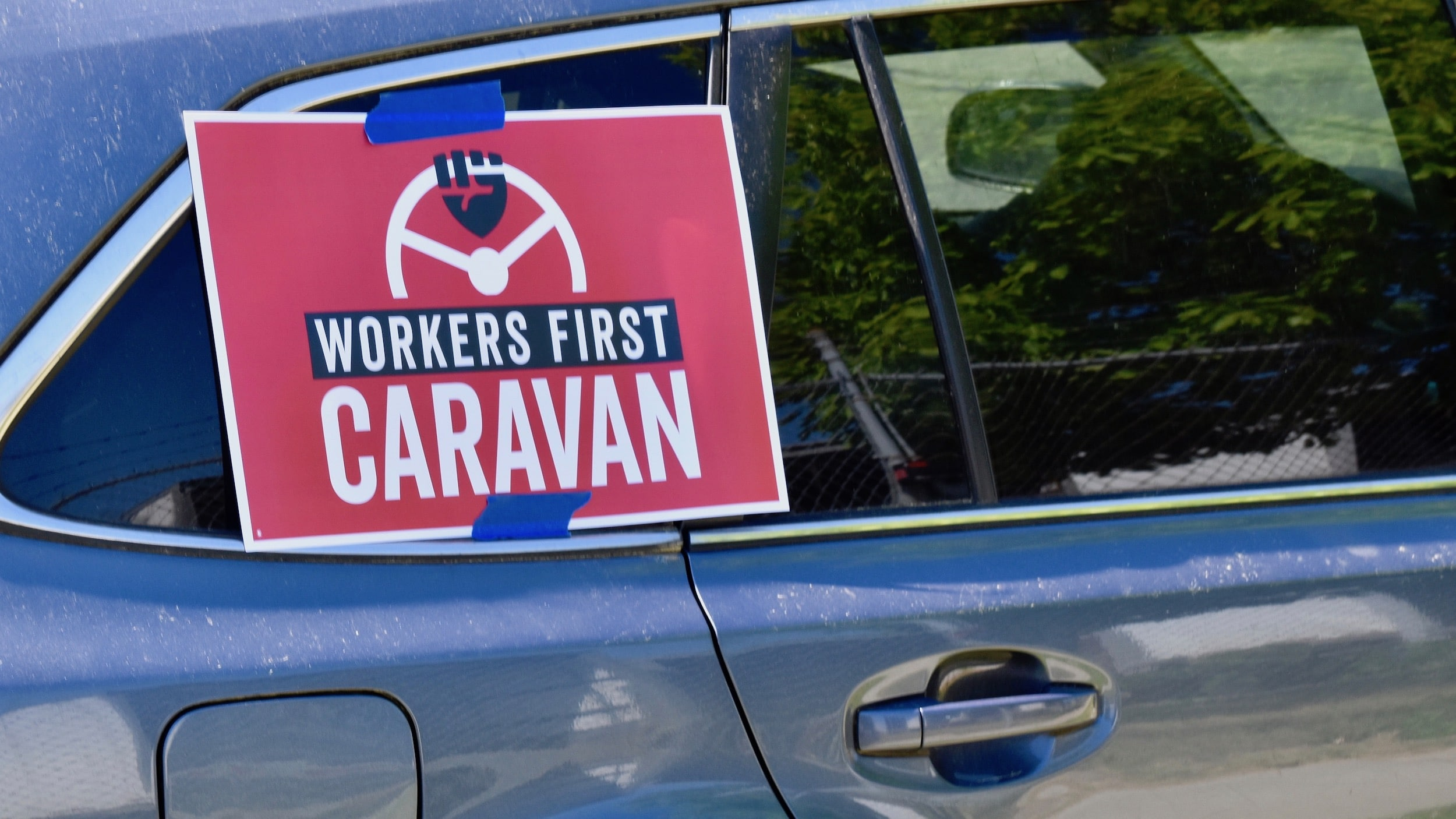Photo for The Workers First Caravan for racial and economic justice