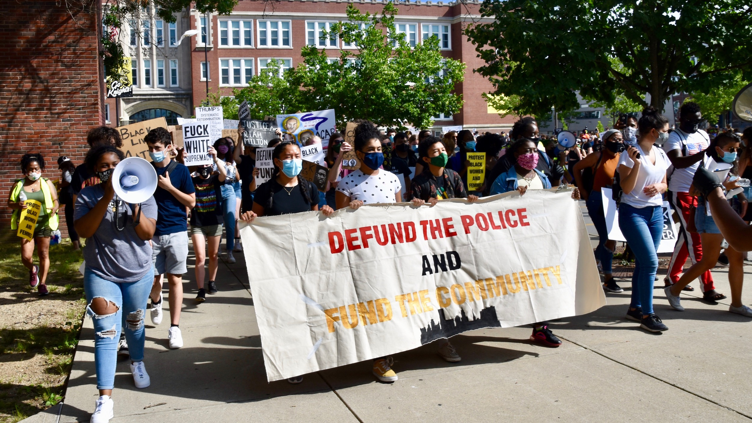 Photo for PVD youth organize and lead Juneteenth march for racial justice