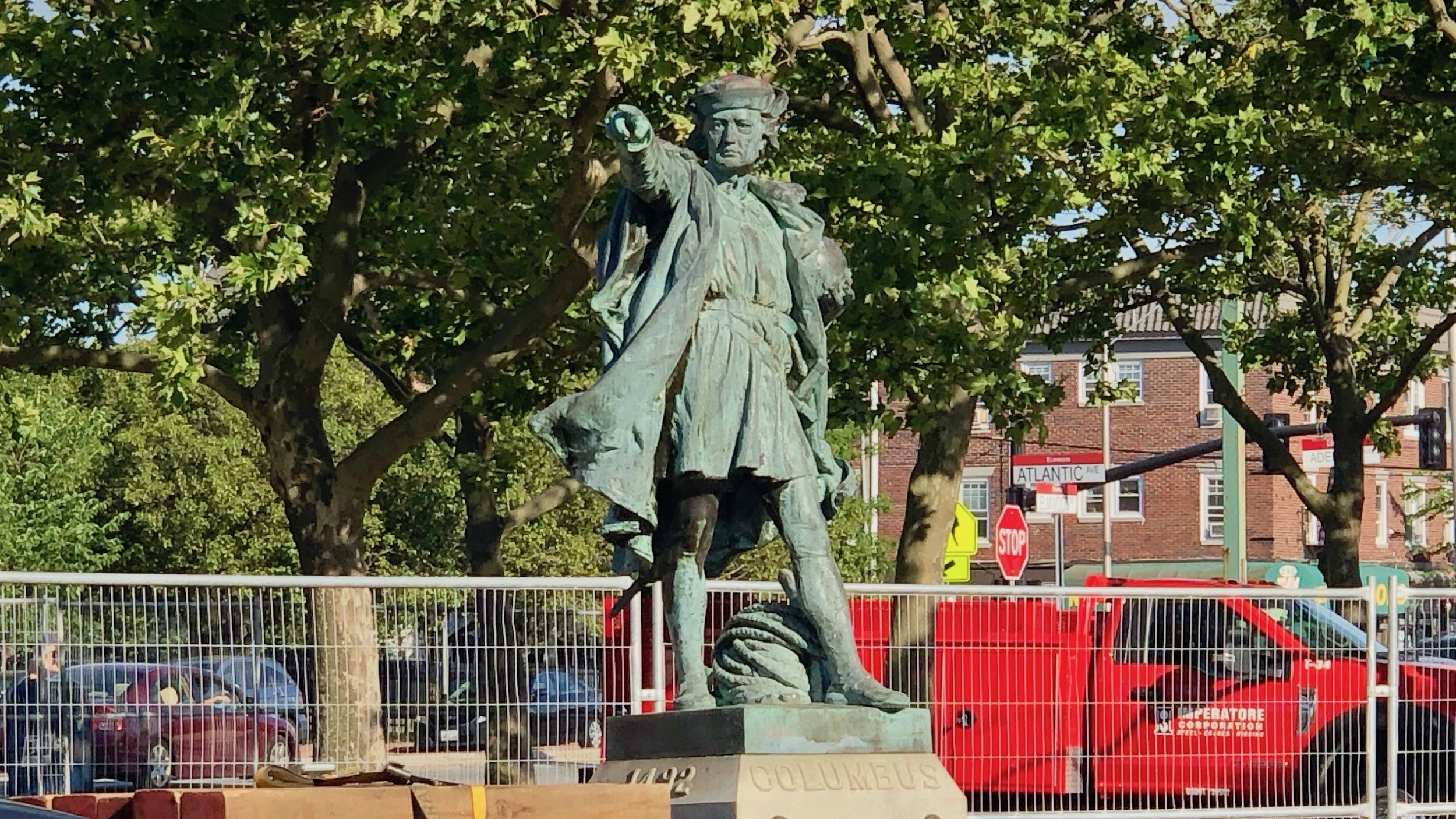 Photo for PVD Parks Commission discusses Columbus statue