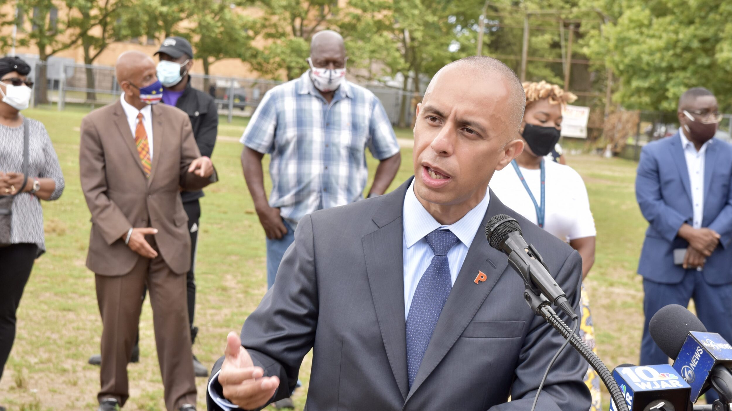 Photo for Elorza announces comprehensive review of Public Safety Dept in Providence