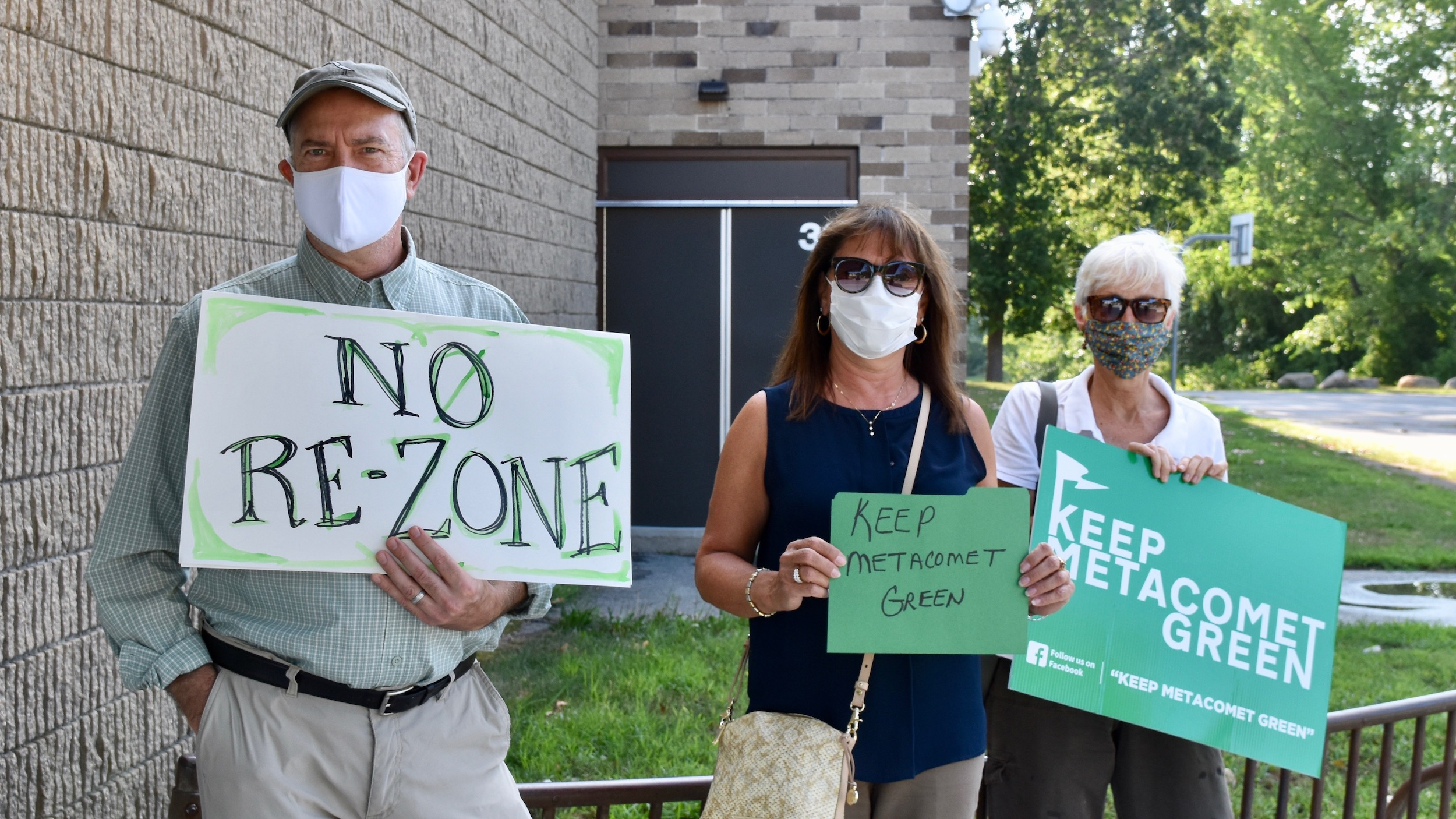 Photo for Marshall Development and Keep Metacomet Green battle during East Providence City Council meeting