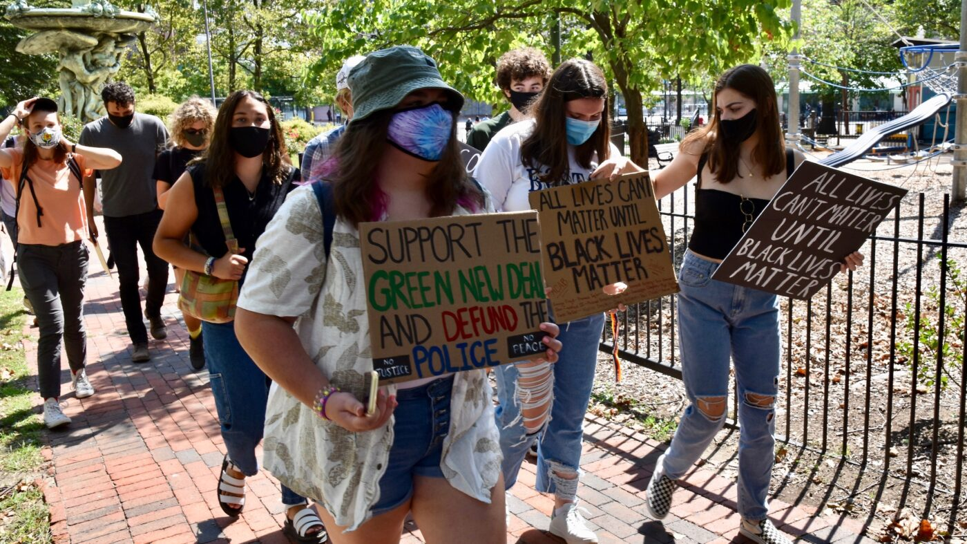 Rally for Racial and Climate Justice in Providence