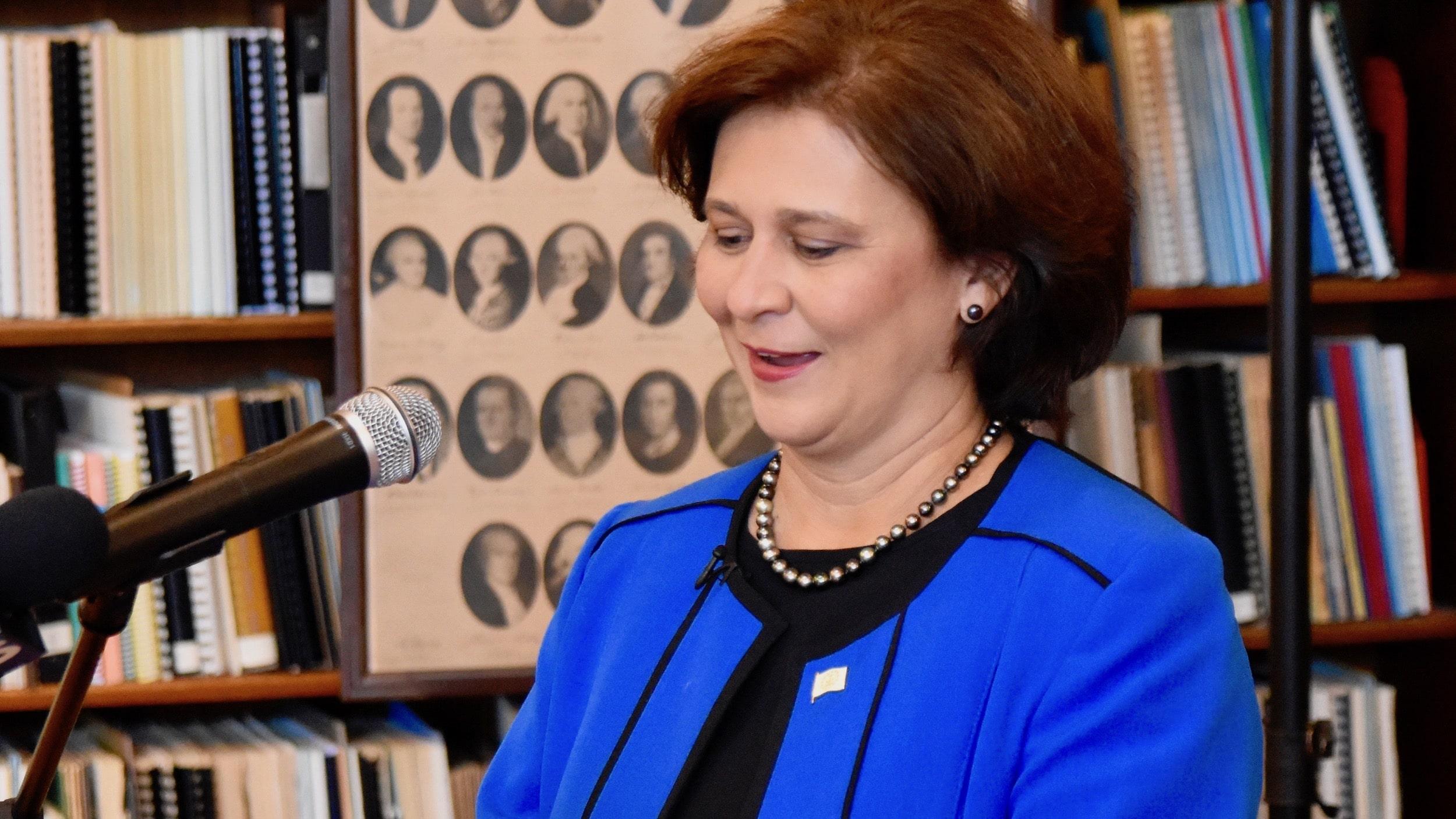 Photo for Secretary of State Nellie Gorbea announces run for RI Governor