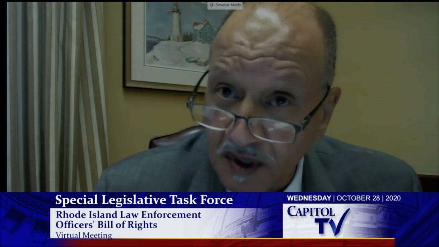 LEOBoR task force hearing takes up Anastasia Williams legislation