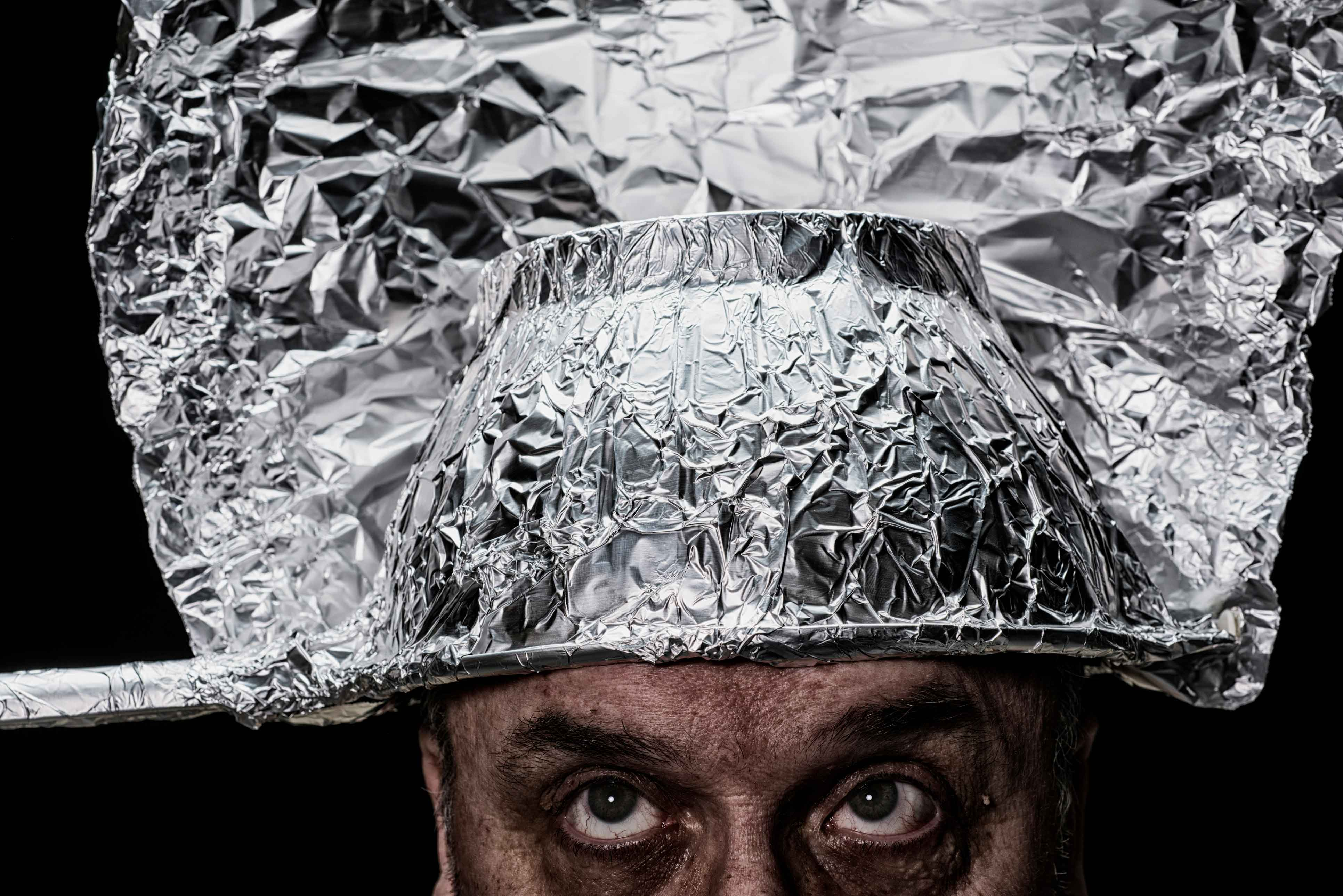 Photo for Can We Fix It: Tin Foil Hat Man Strikes Again!