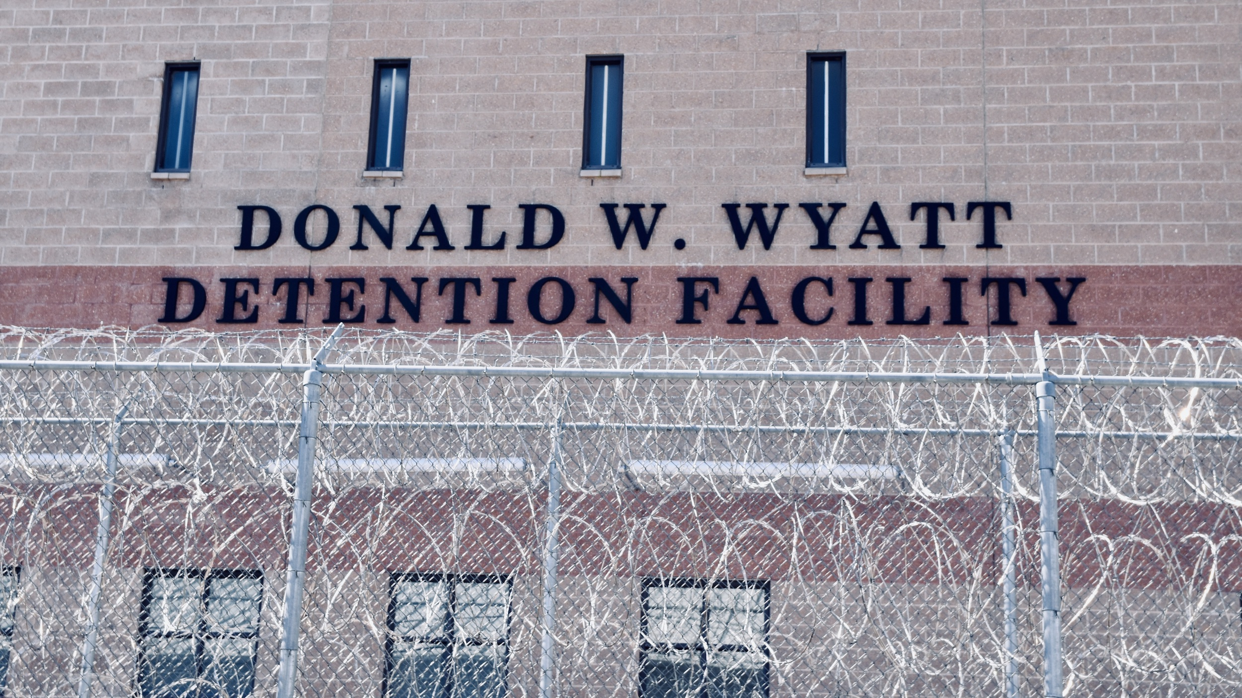 Photo for With no explanation, Wyatt ICE detainee population explodes 316%