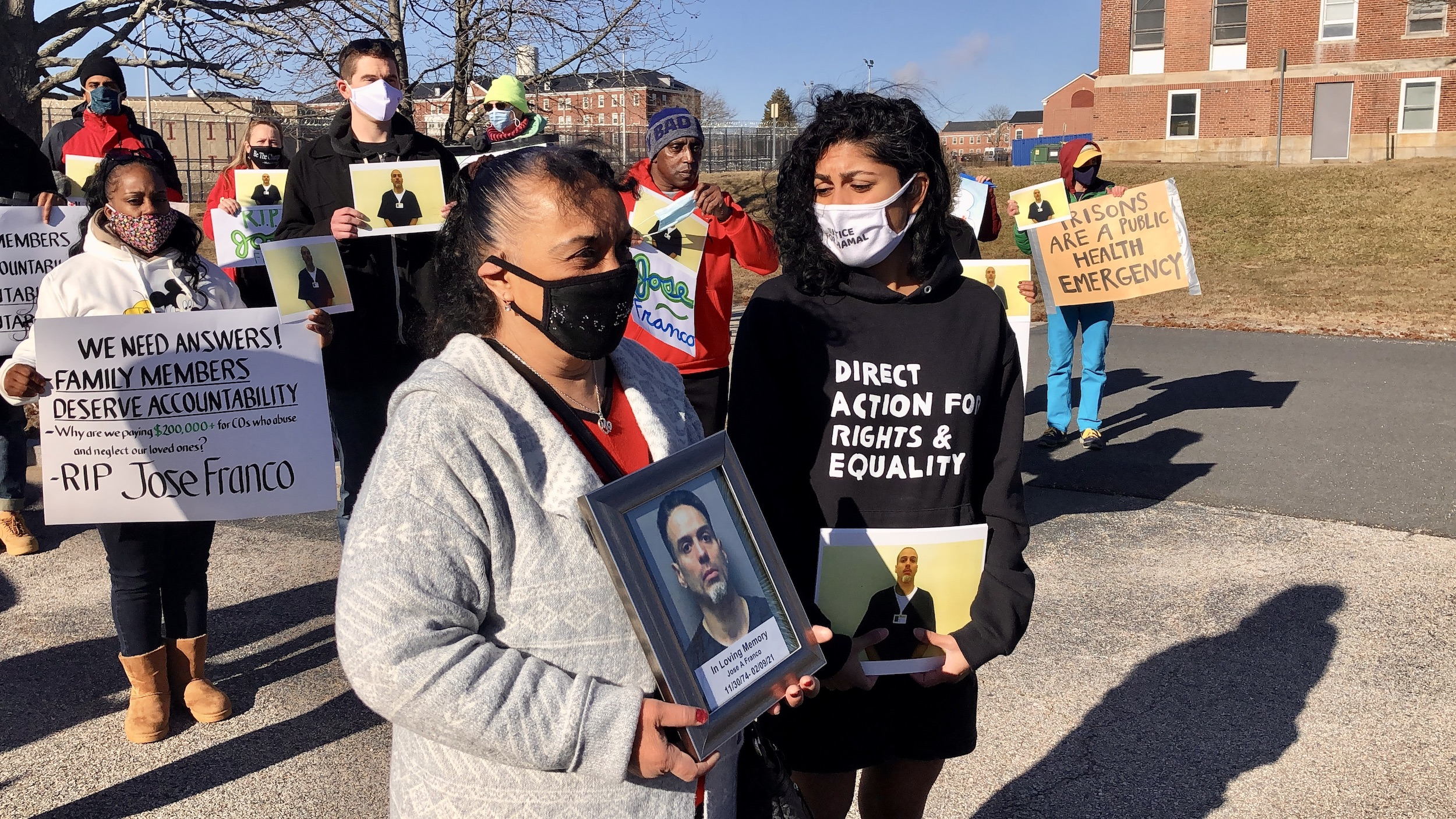 Photo for Still no answers for mother of man who died at the ACI