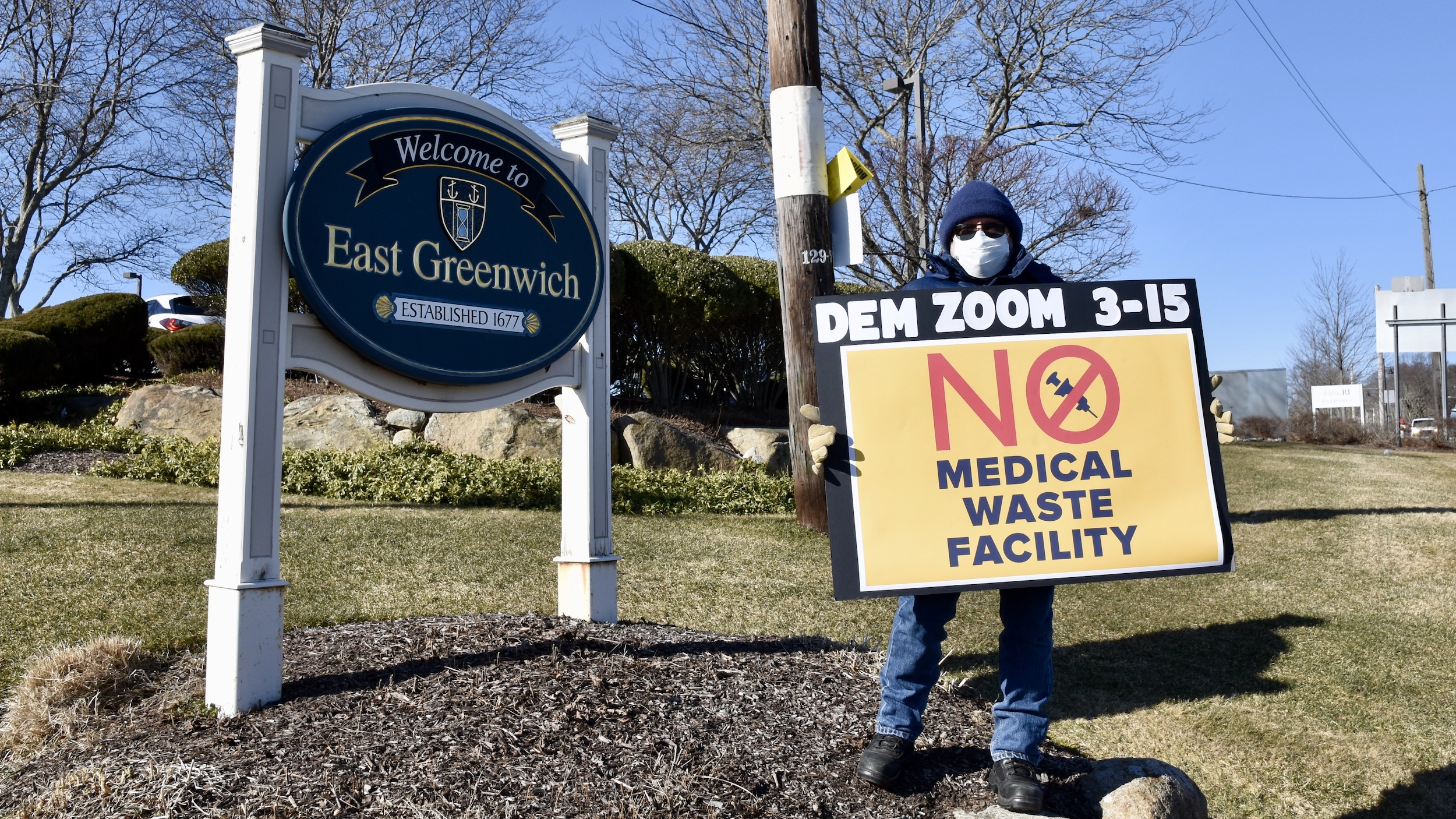 Photo for All the video from the DEM hearing on proposed pyrolysis medical waste to energy facility