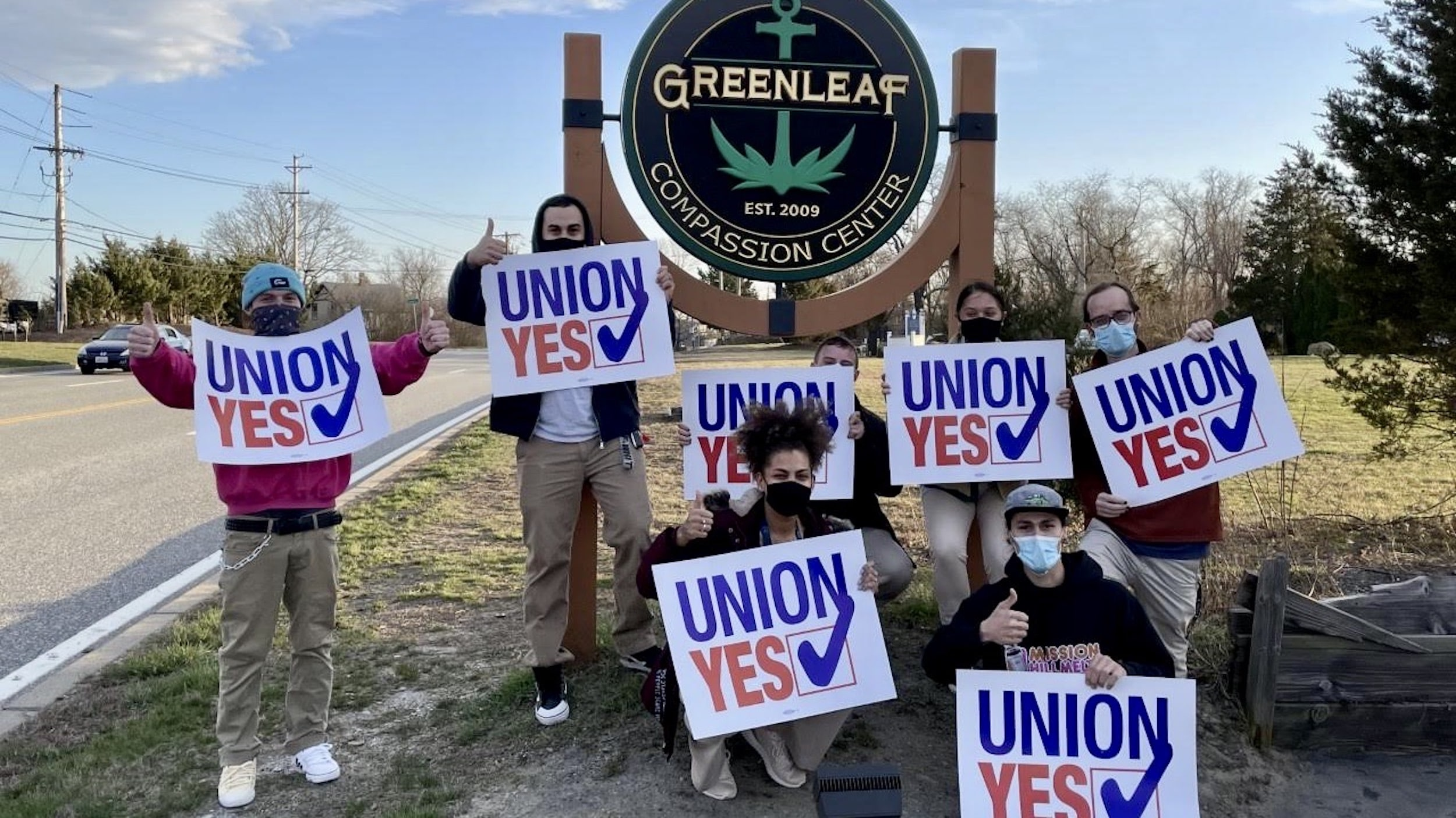 Photo for Greenleaf Compassionate Care Center workers vote to unionize