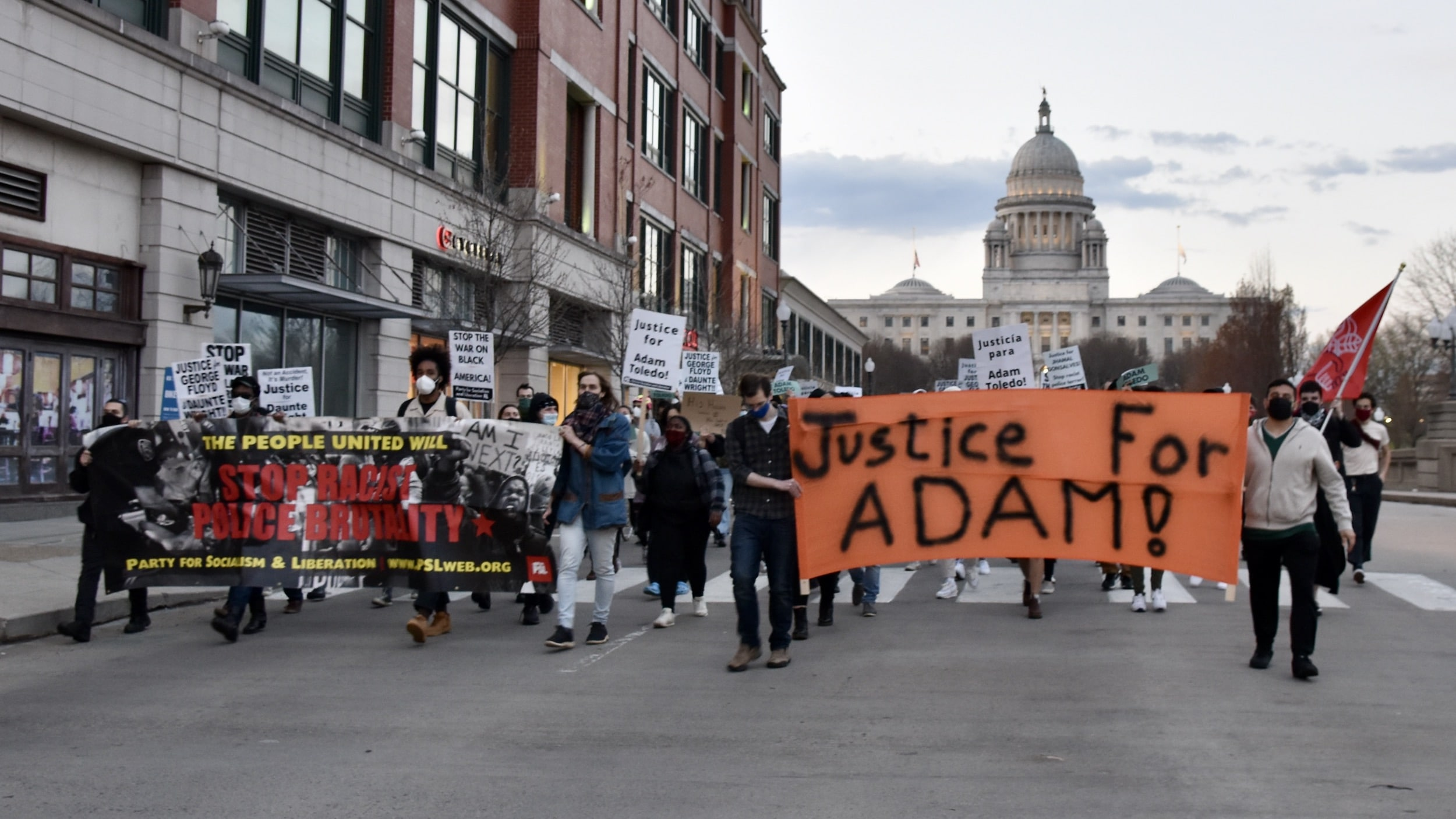 Photo for Providence marches for Adam Toledo
