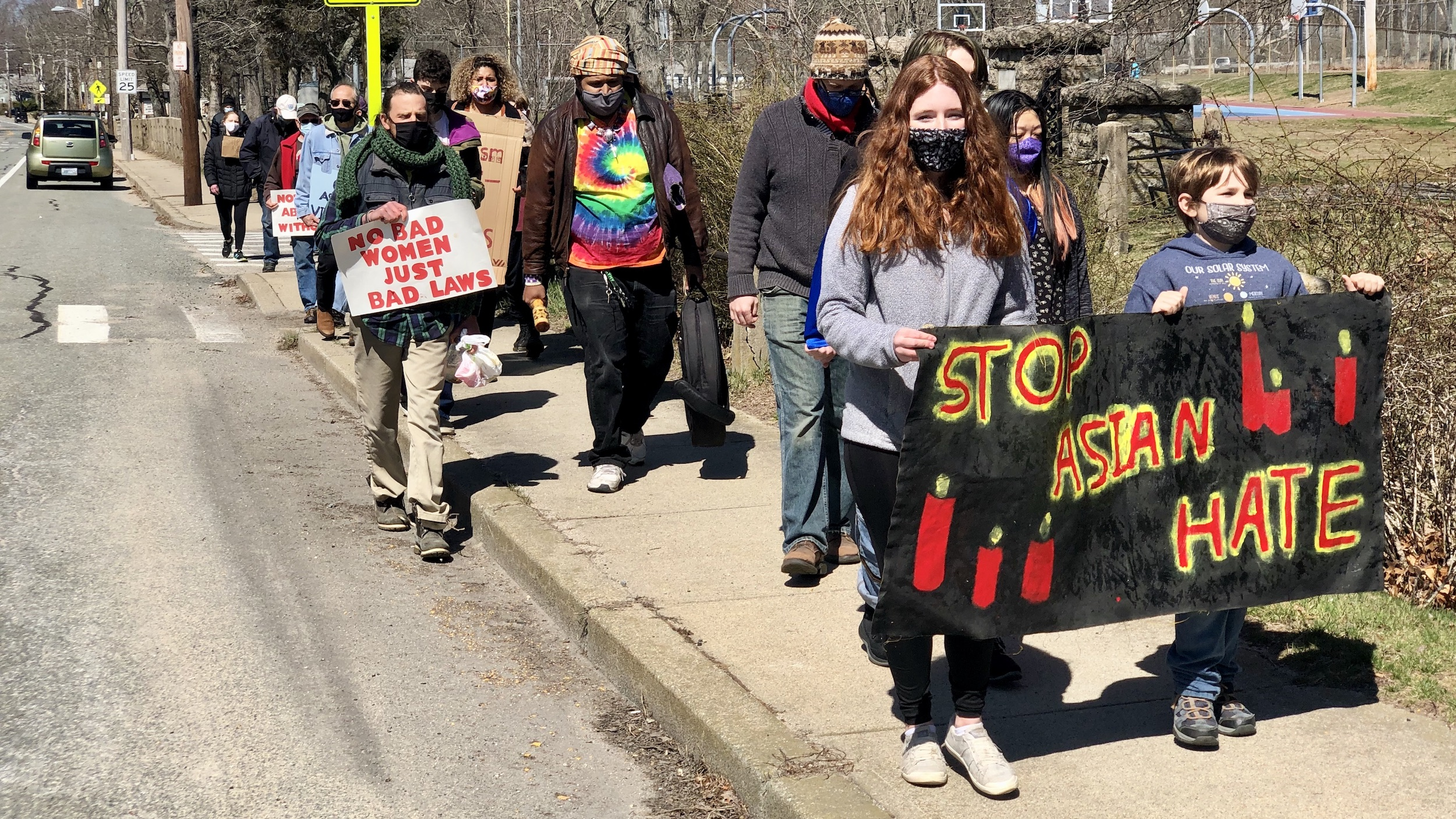 Photo for Youth organize a Stop Asian Hate March in South Kingstown