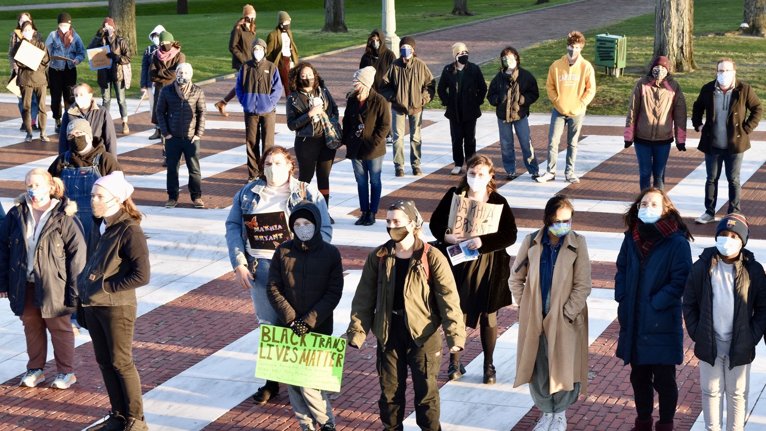 Photo for Justice for Ma'Khia Bryant Protest in Providence