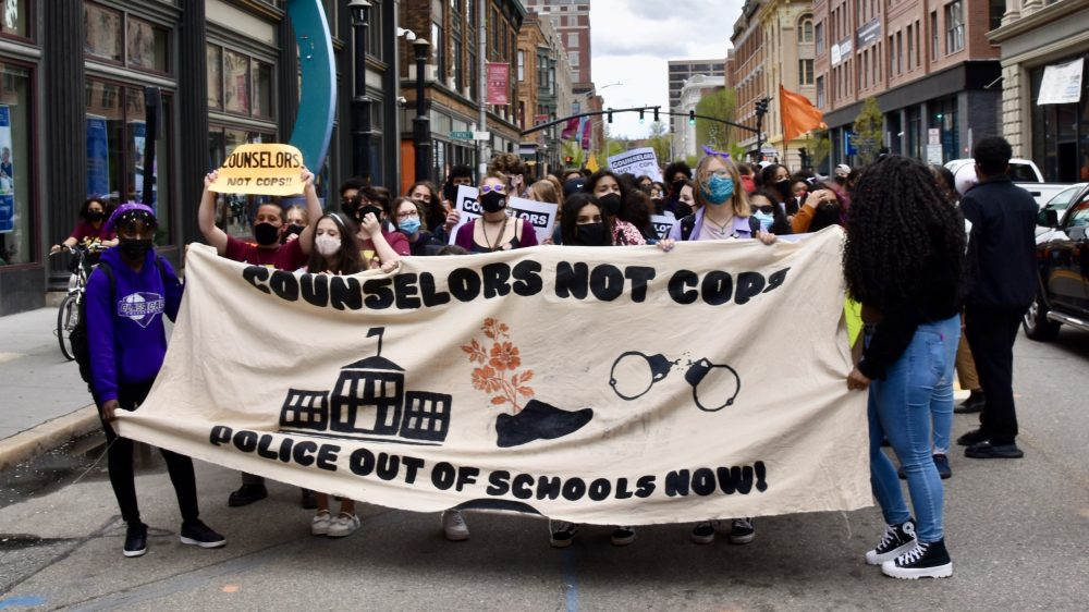 Governor McKee believes student resource officers are needed – Students disagree