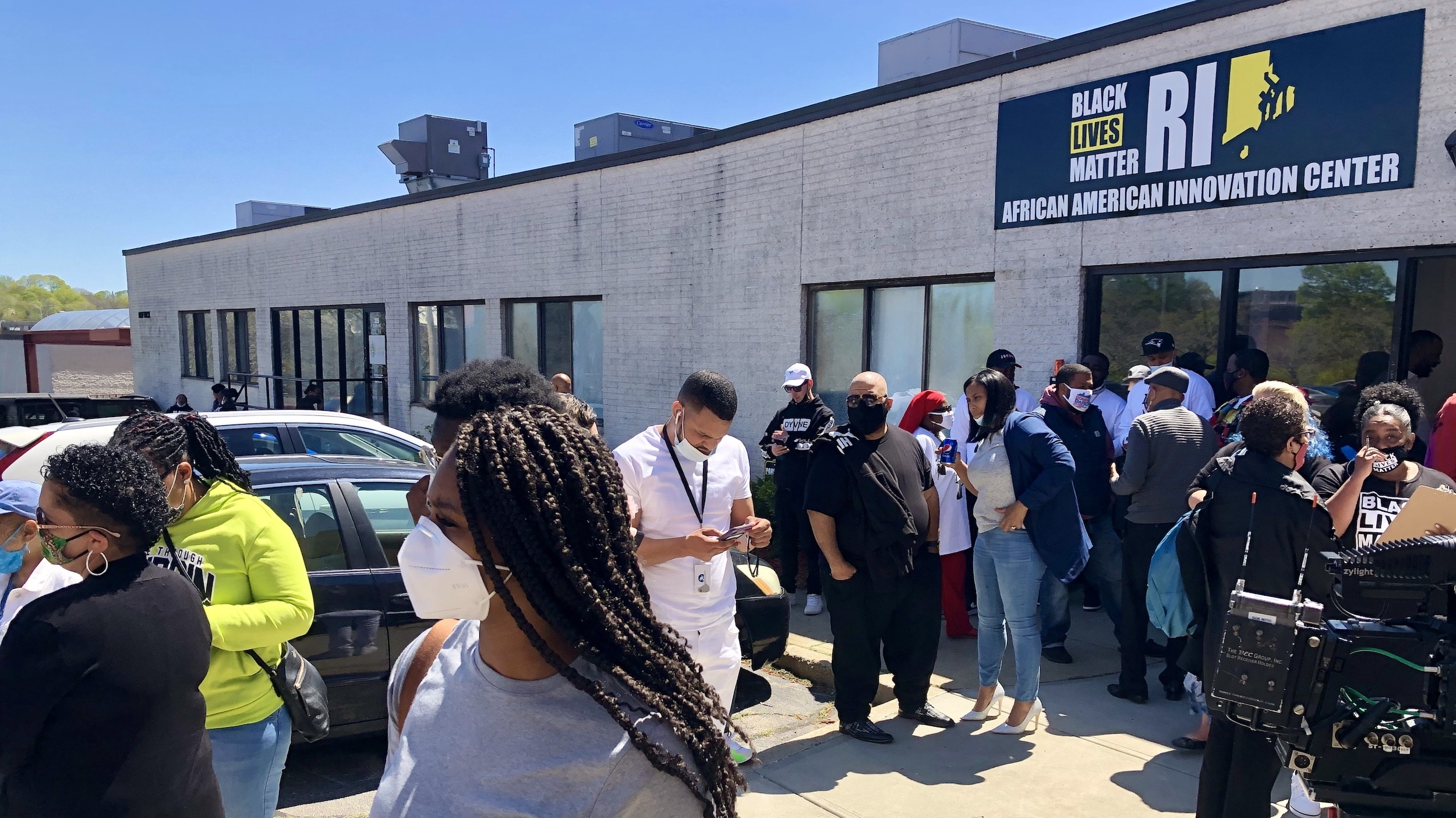 Photo for BLM RI opens African American Innovation Center in Pawtucket