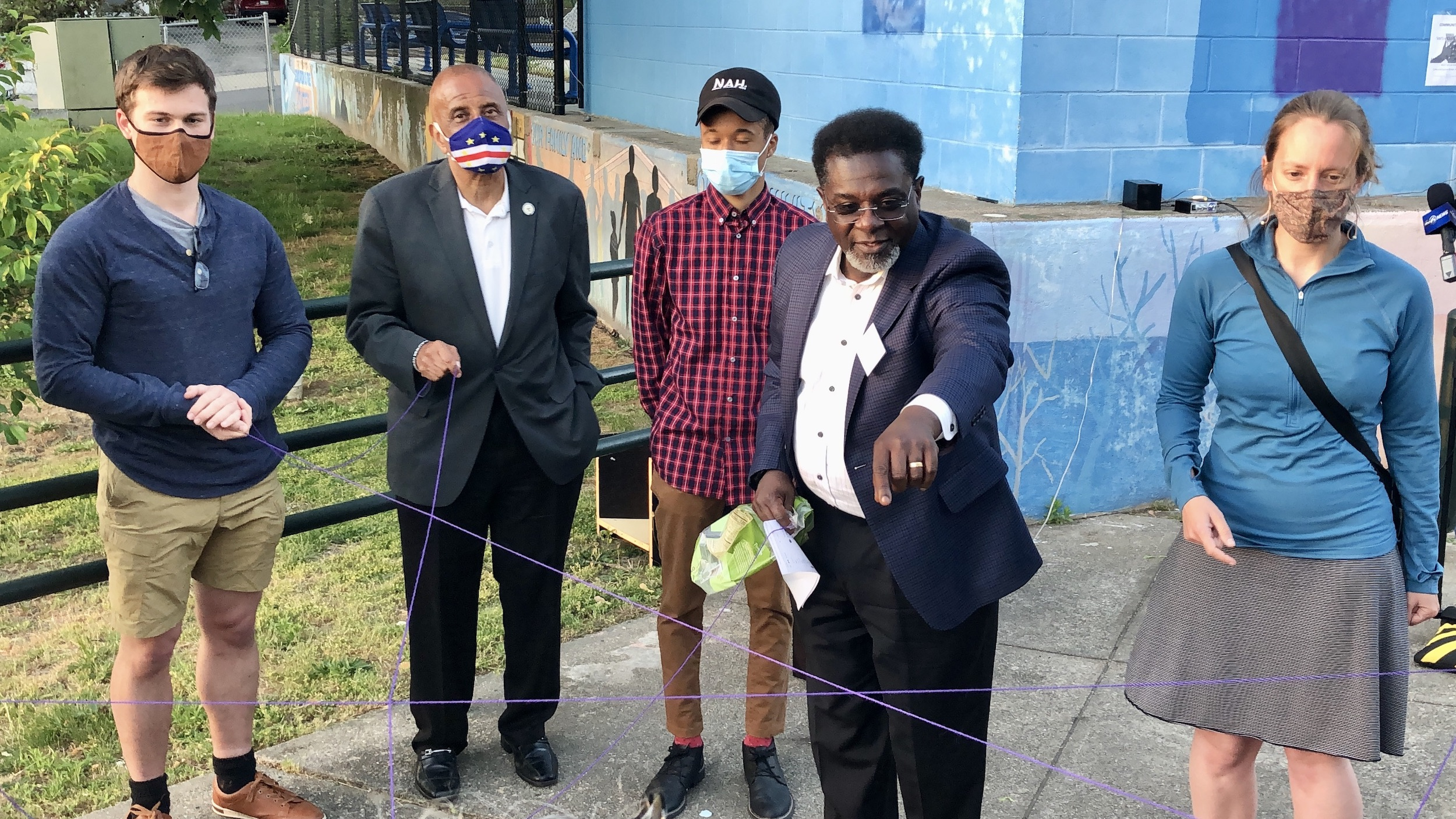 Photo for Faith and community leaders unveil alternatives to violence at Billy Taylor Park