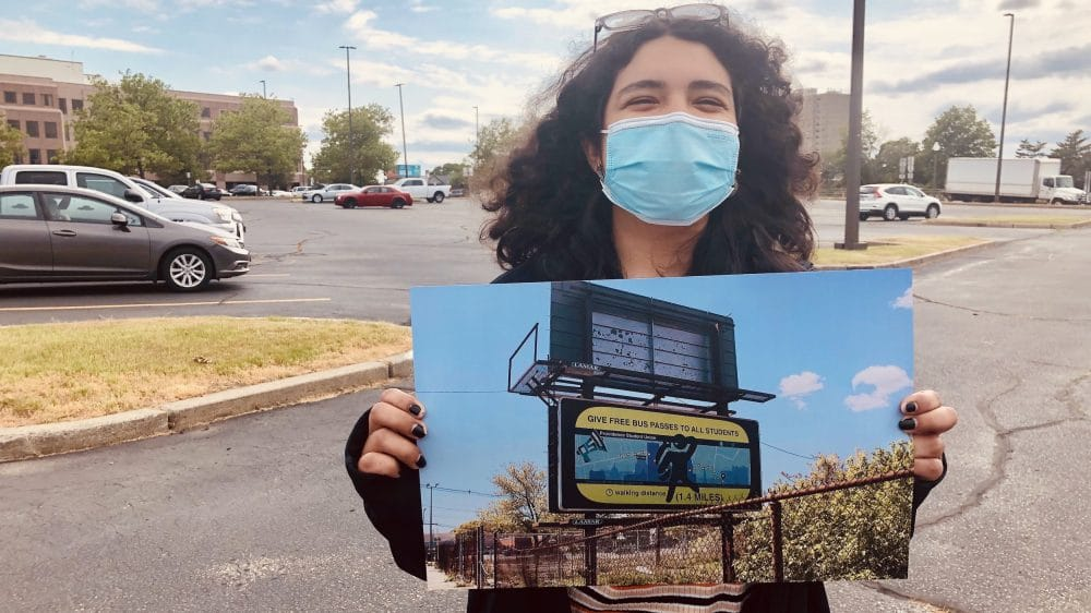 Providence Student Union designs billboards to promote Students' Bill of Rights
