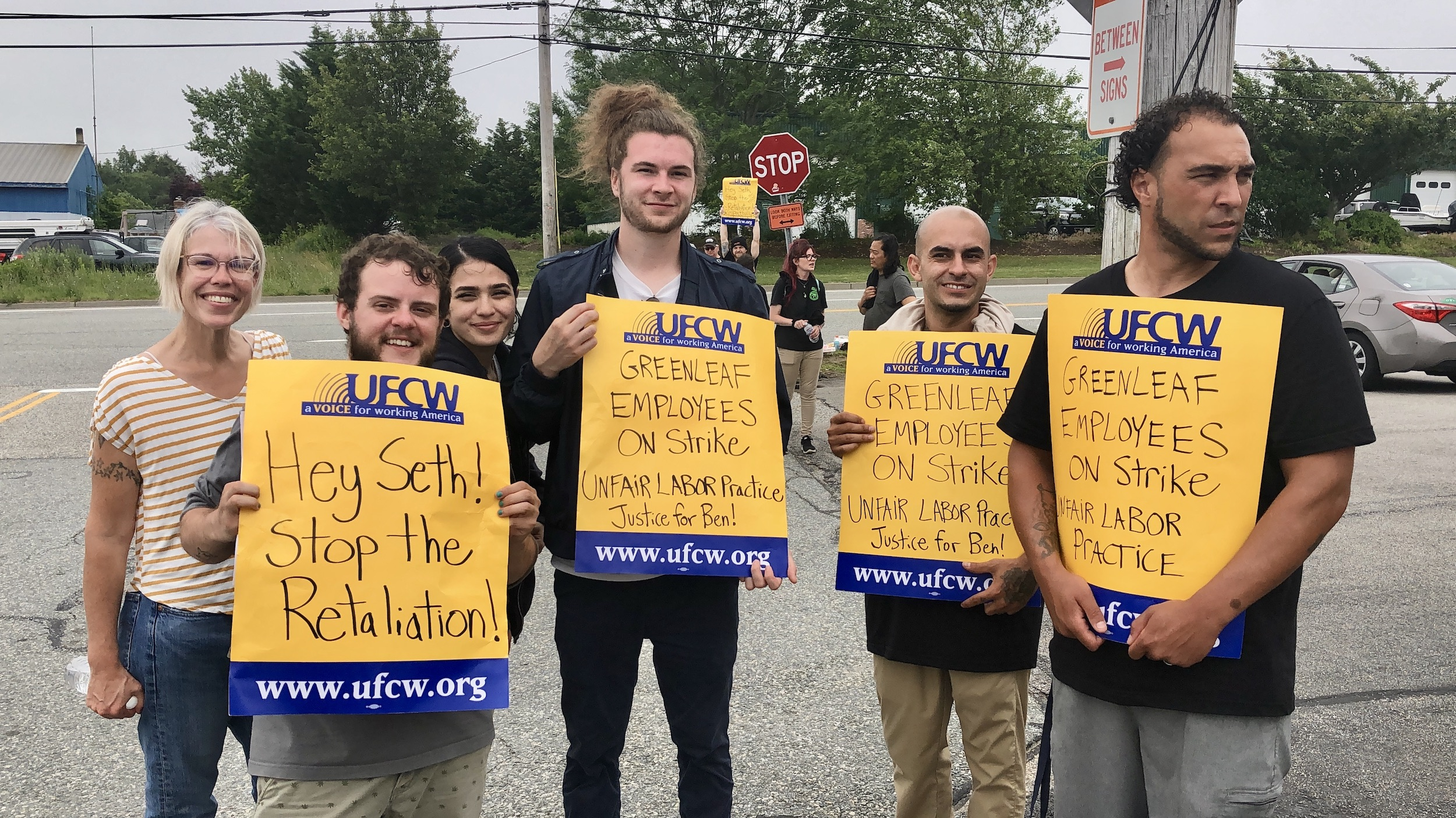 Photo for No compassion for workers at Greenleaf dispensary in Portsmouth