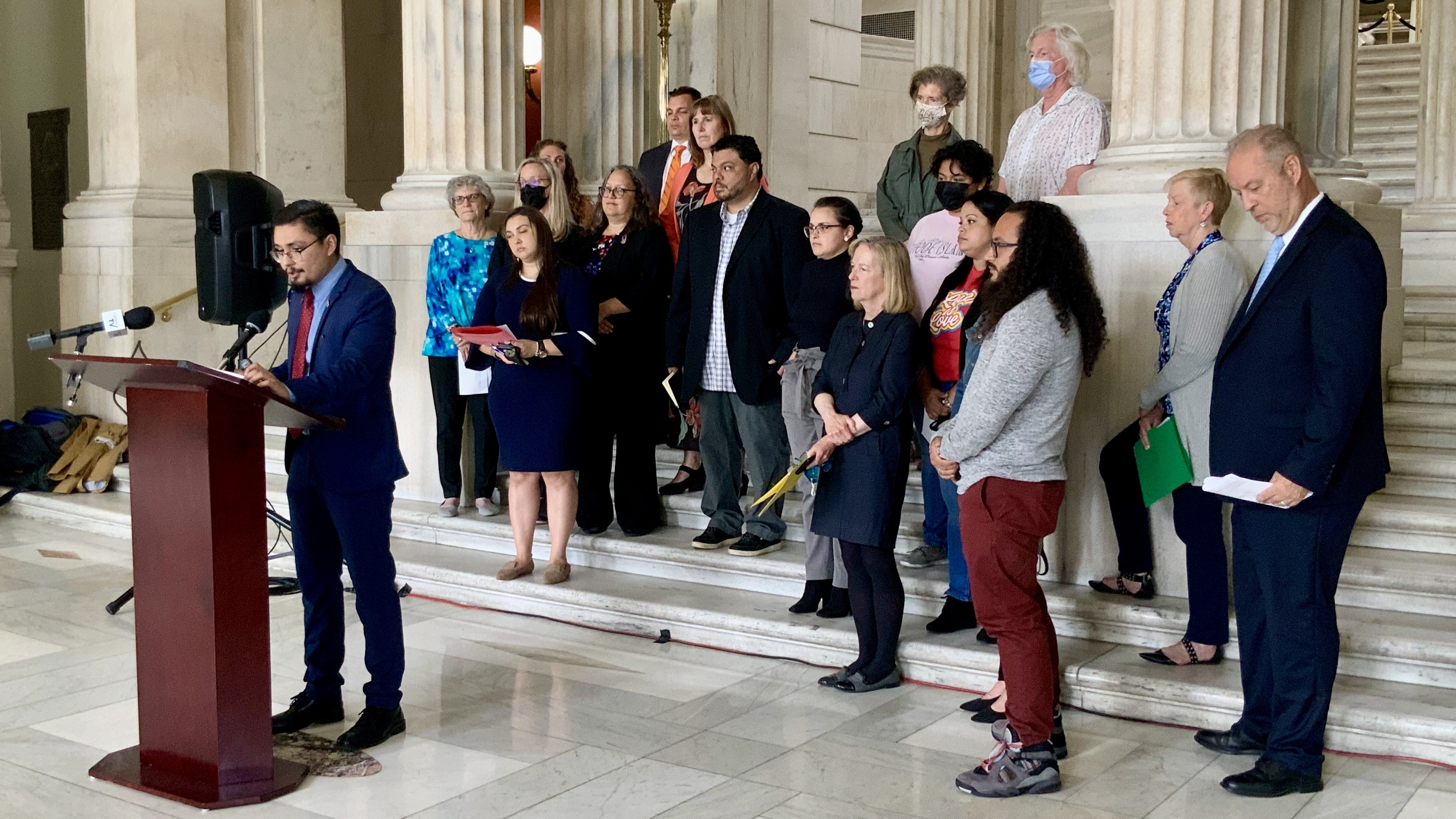 Photo for Advocates push to provide health insurance for all RI children, regardless of immigration status