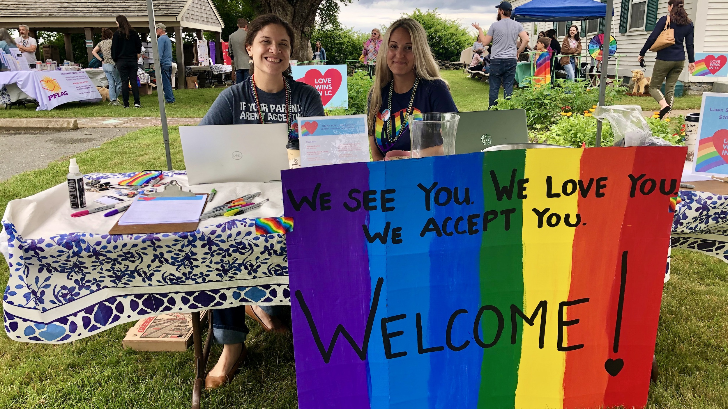 Photo for Little Compton holds first official Pride celebration