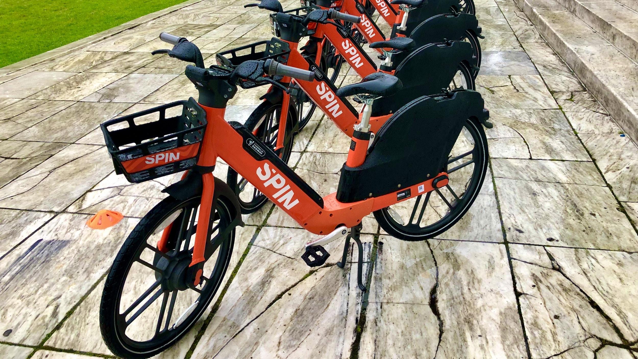 Photo for E-bikes return to Providence