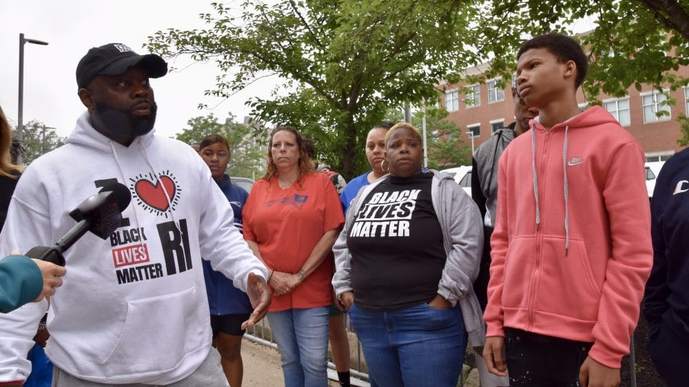Black Lives Matter RI calls Sayles St incident 'one of the worst assaults in Rhode Island history'
