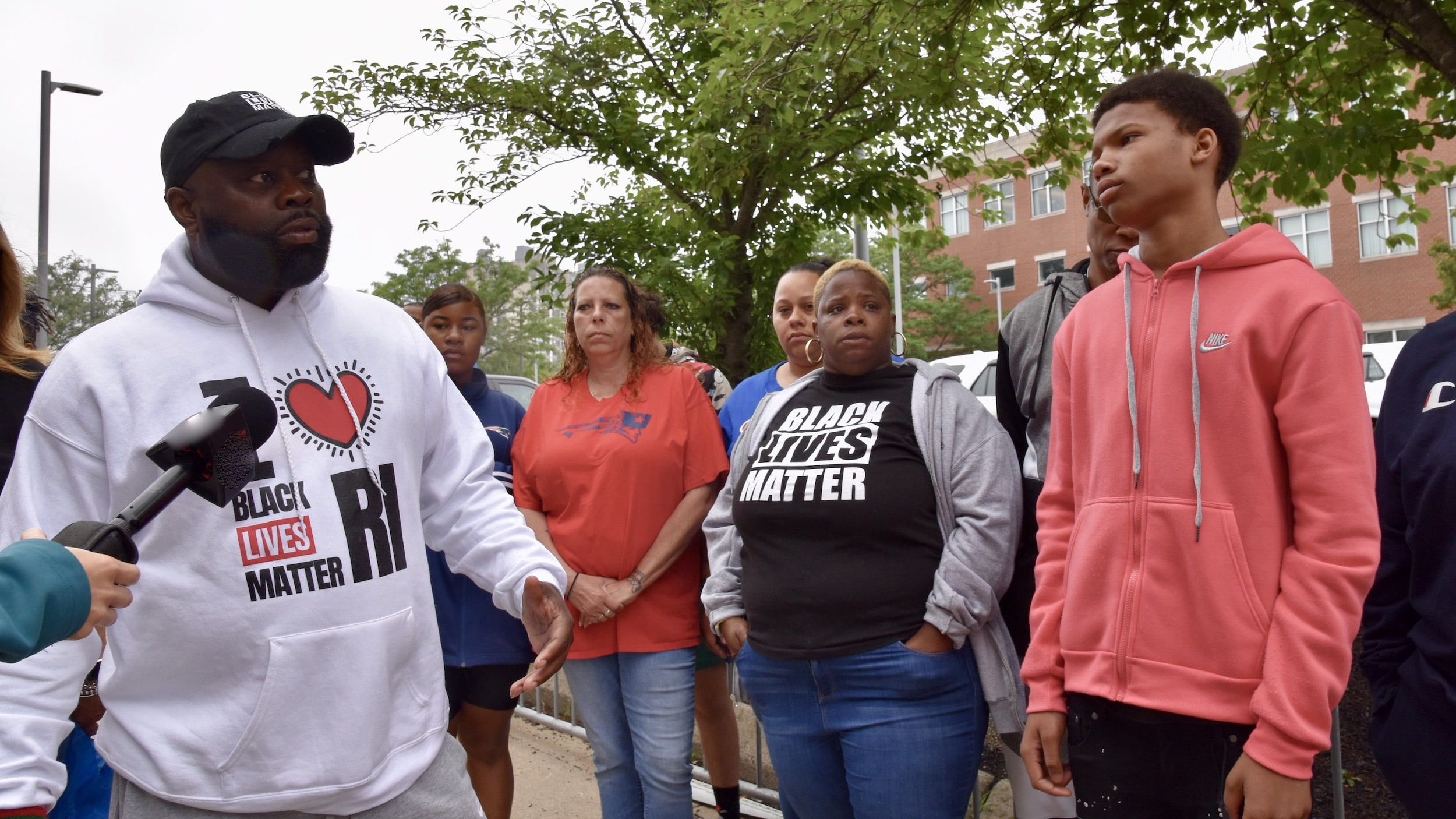 Photo for Black Lives Matter RI calls Sayles St incident 'one of the worst assaults in Rhode Island history'