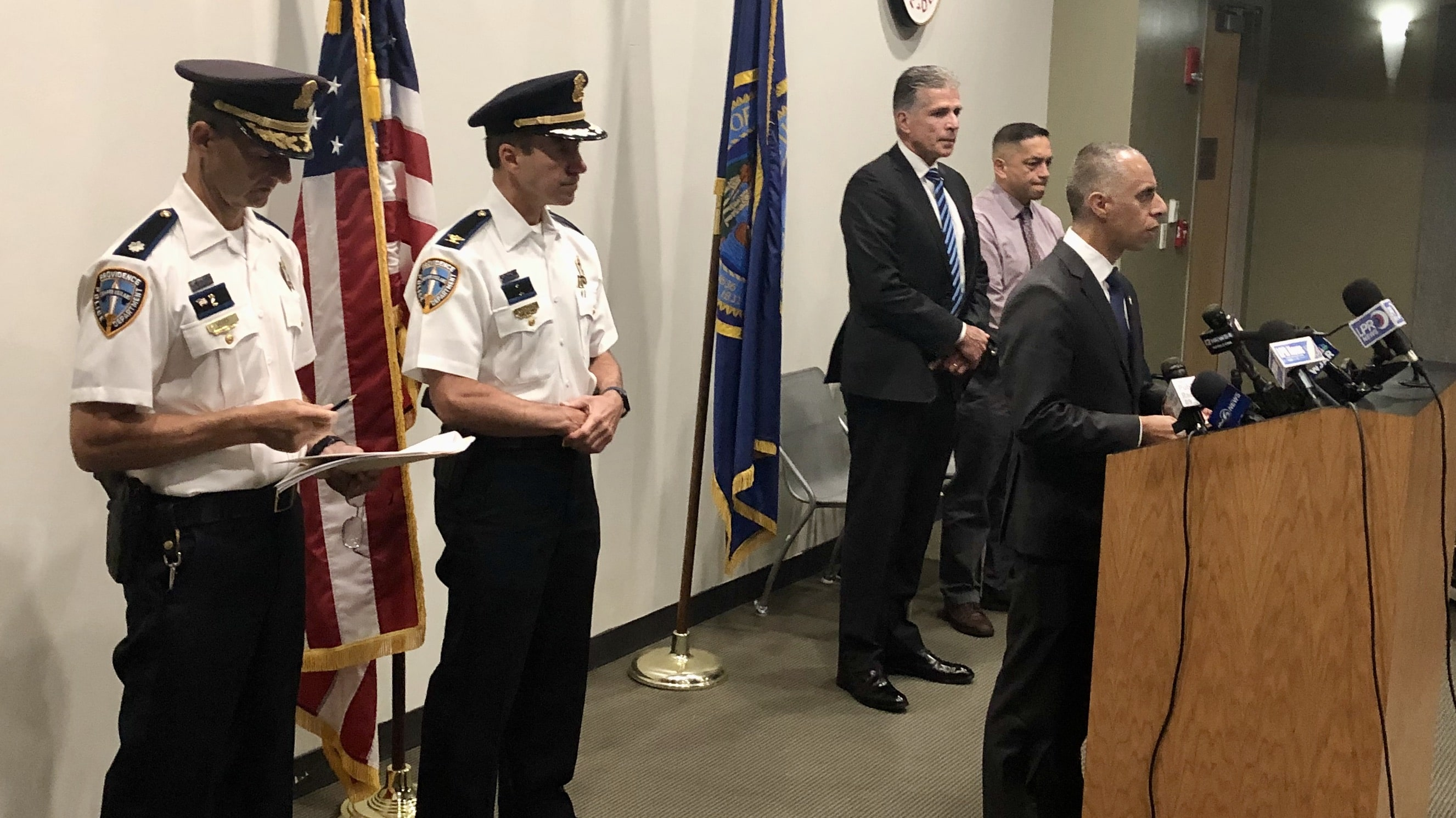 Photo for PVD city officials comment of Sayles Street incident