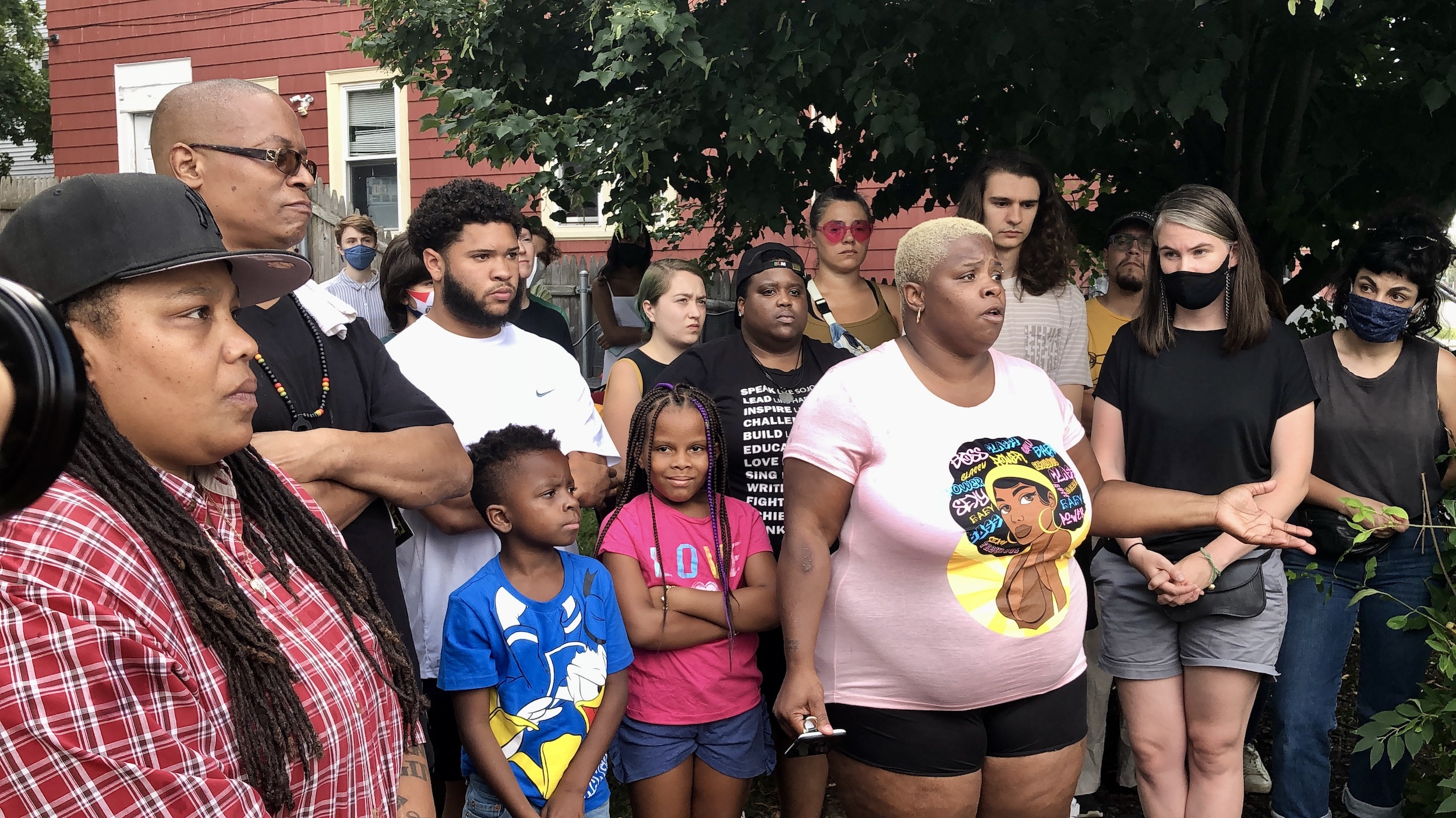 Photo for Providence family facing harassment and violence after police altercation