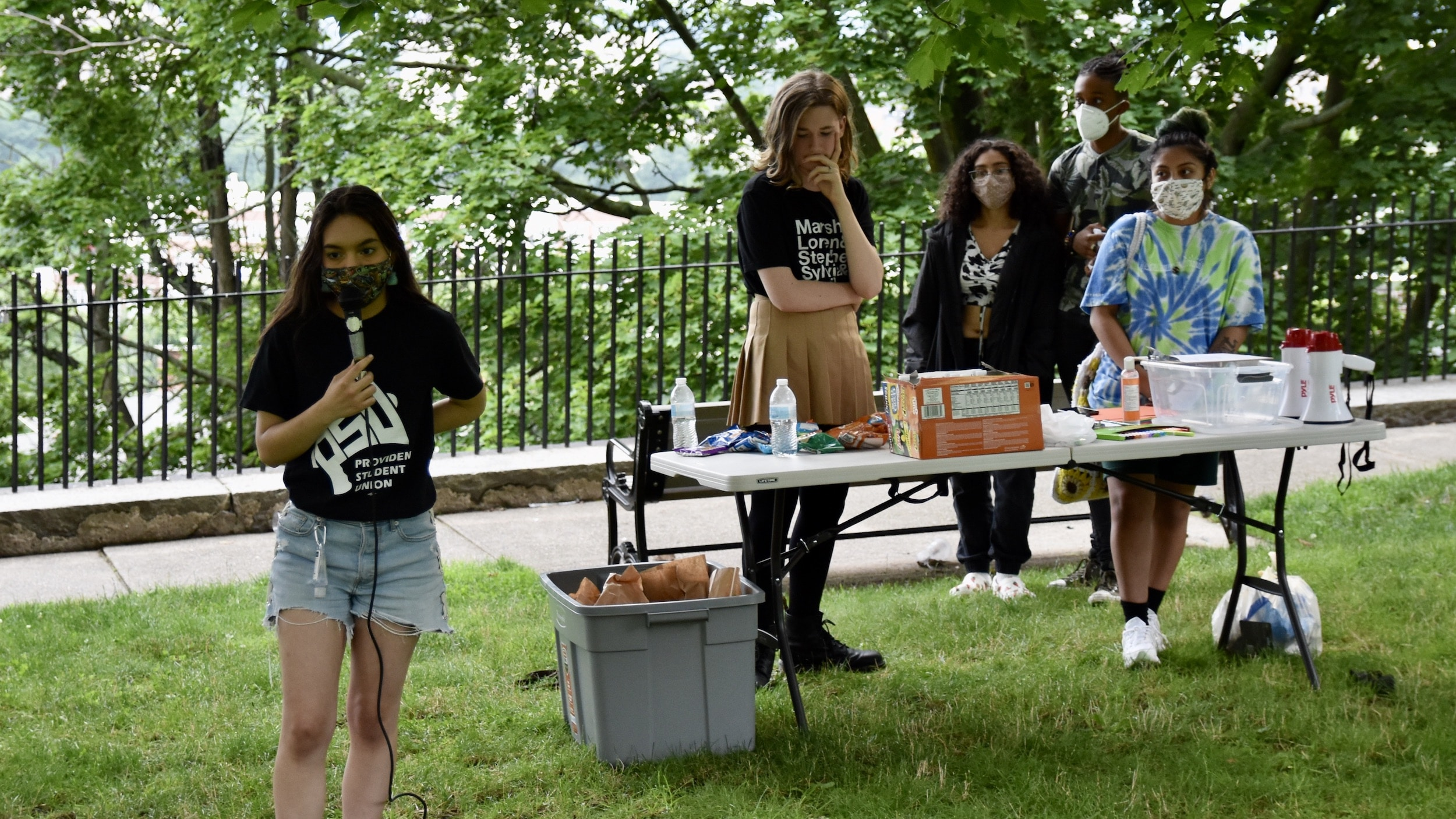 Photo for Youth led Remembrance Vigil honors LGBTQ+ lives lost