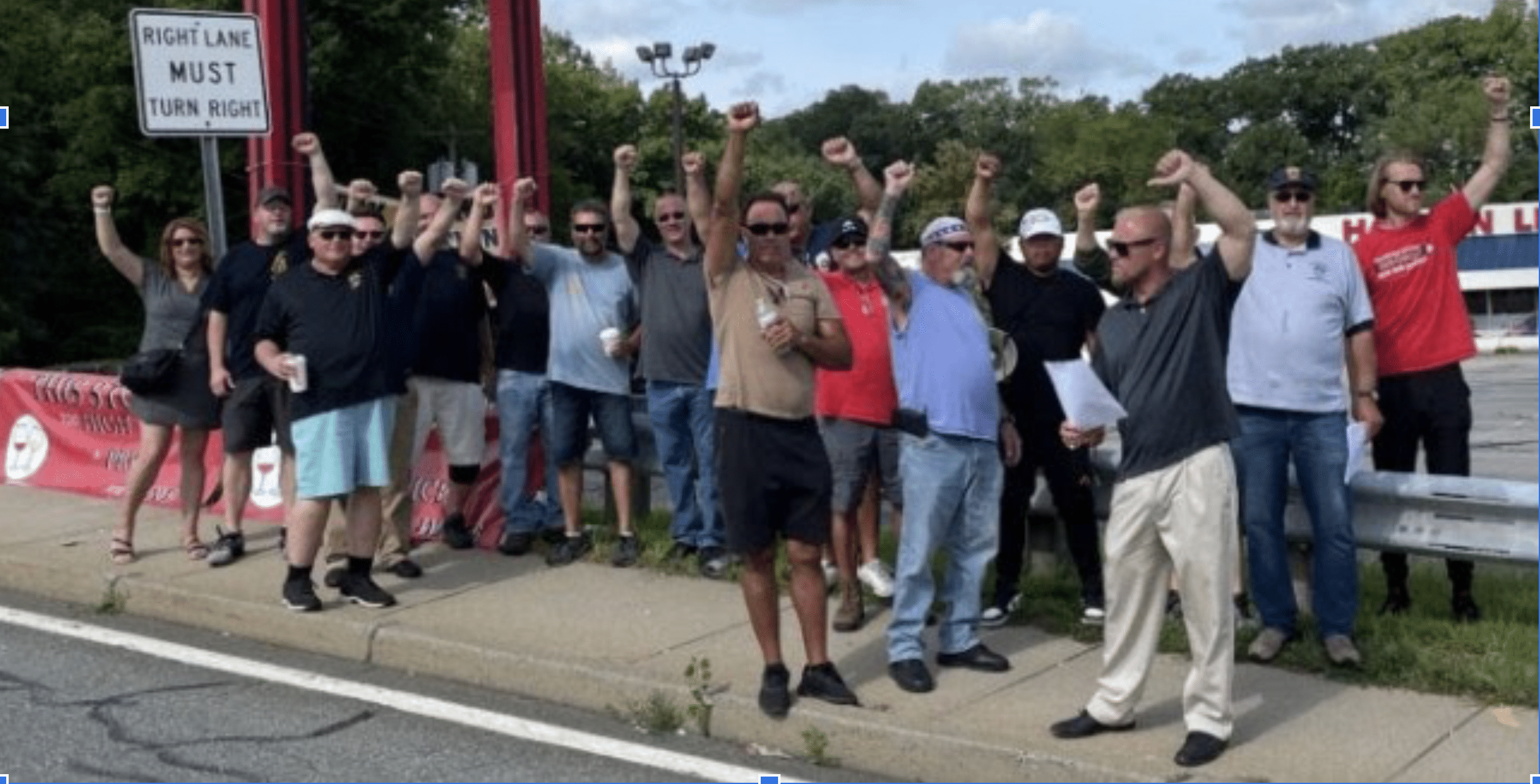 """Photo for """"Apathy is a Worker's Disaster"""": Teamsters 251 on the Johnson Brothers Strike, How you can help, and Why it matters"""