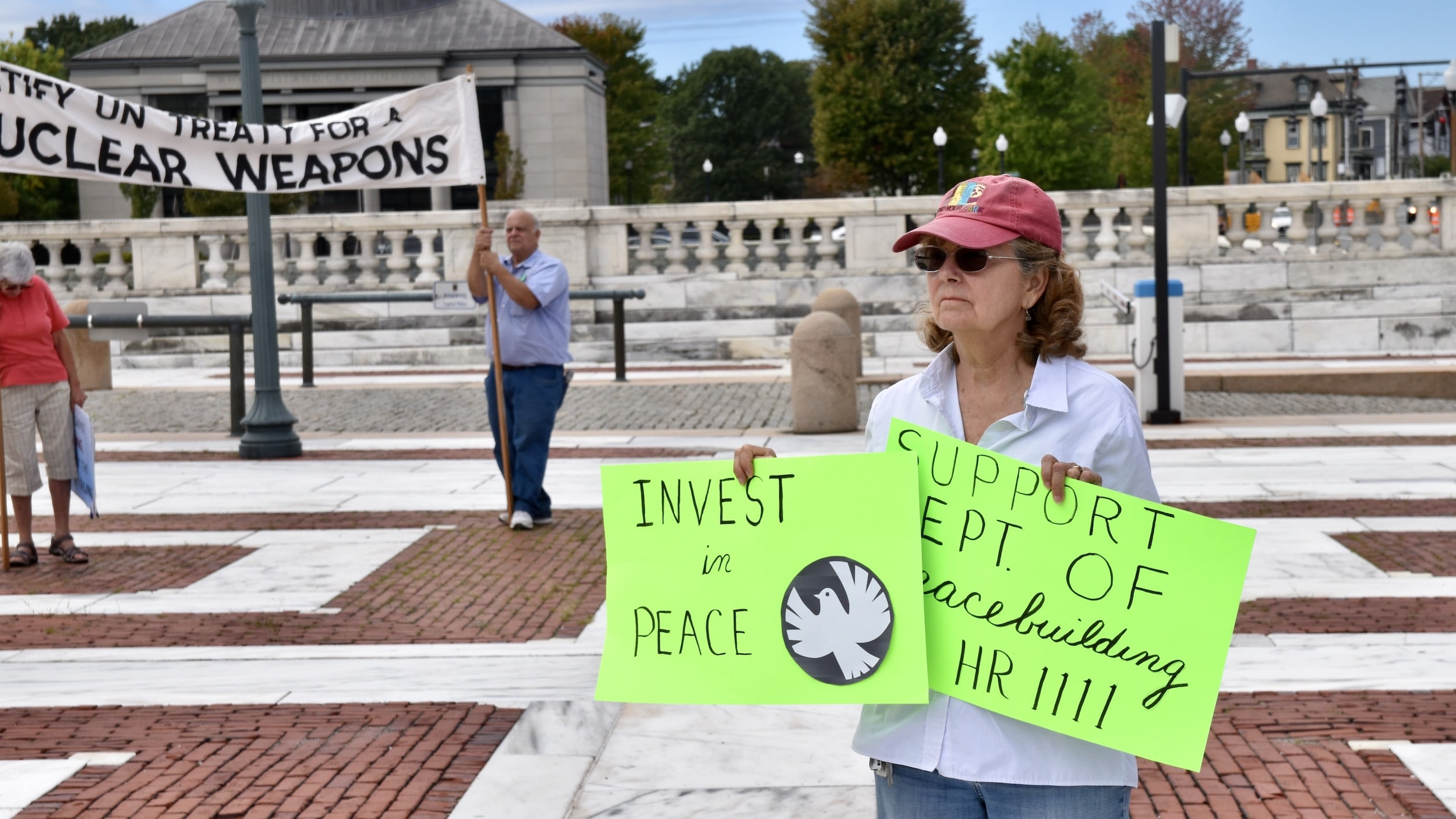 Photo for Rhode Island observes the U.N. International Day of Peace