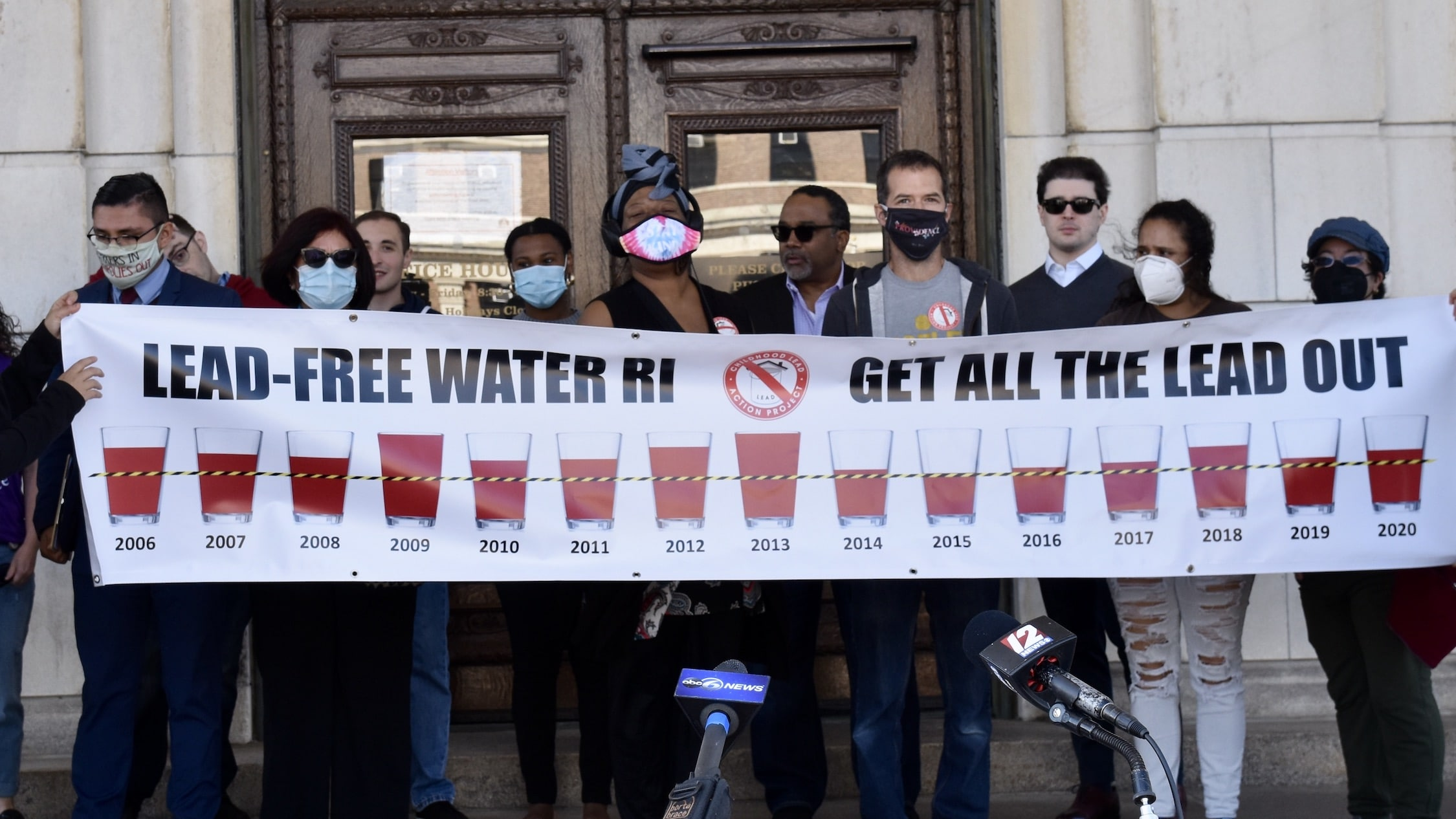 Photo for Advocates launch campaign to end lead in Rhode Island's water forever