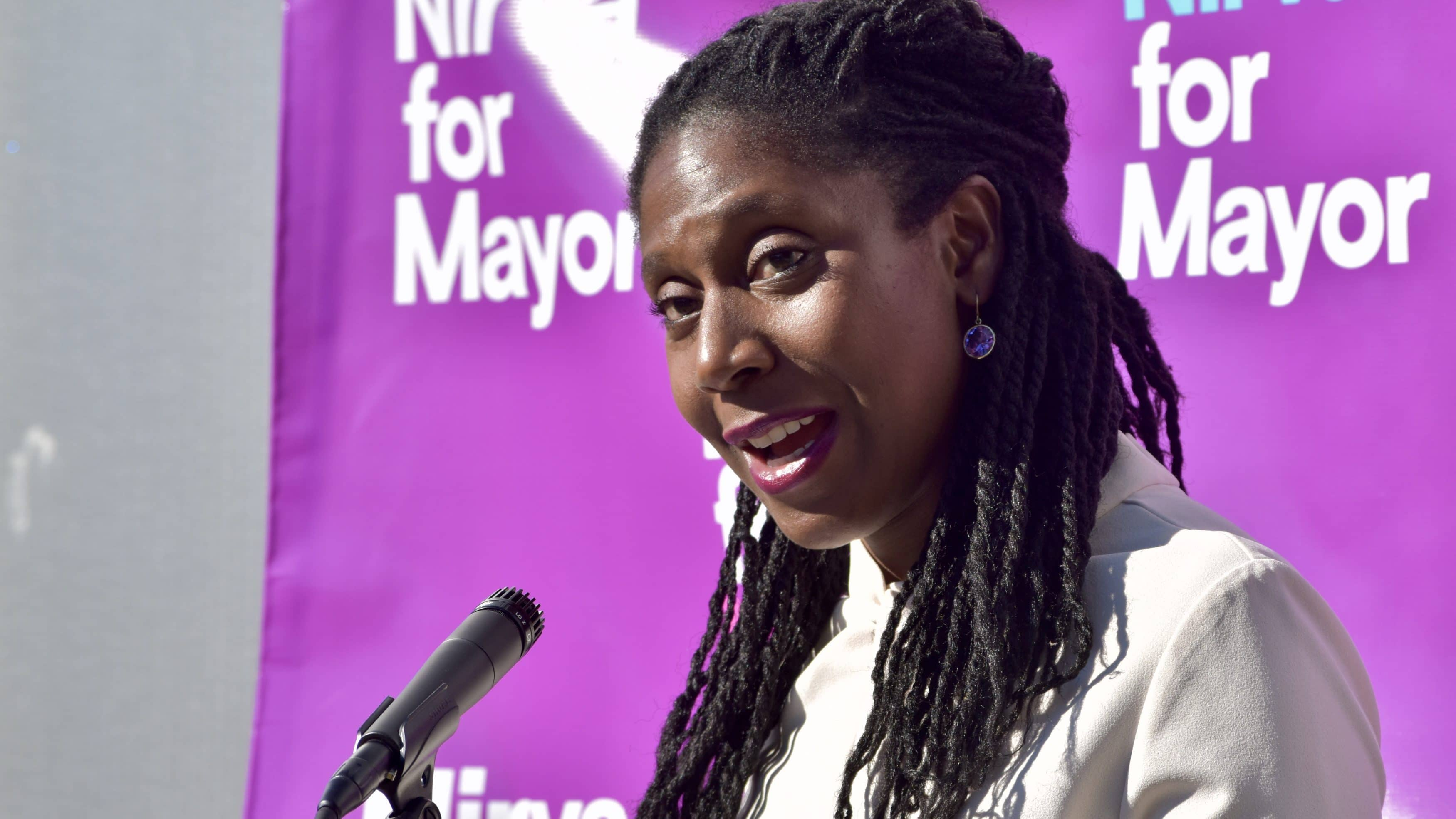 Photo for Nirva LaFortune officially launches Providence Mayoral campaign