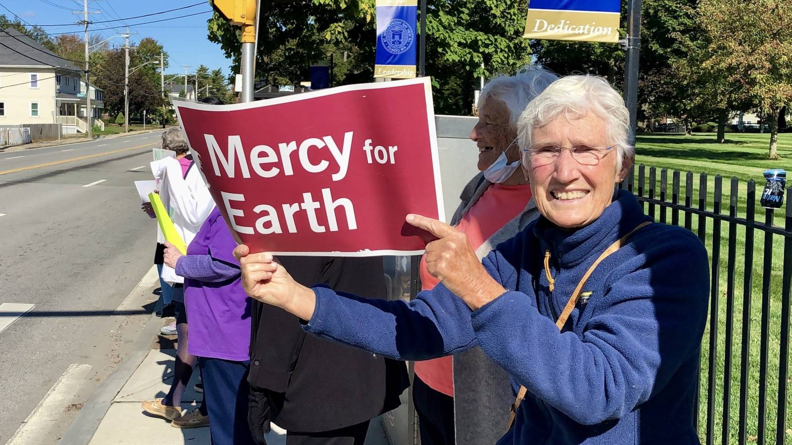 Sisters of Mercy at Bay View Academy demanding action on climate change